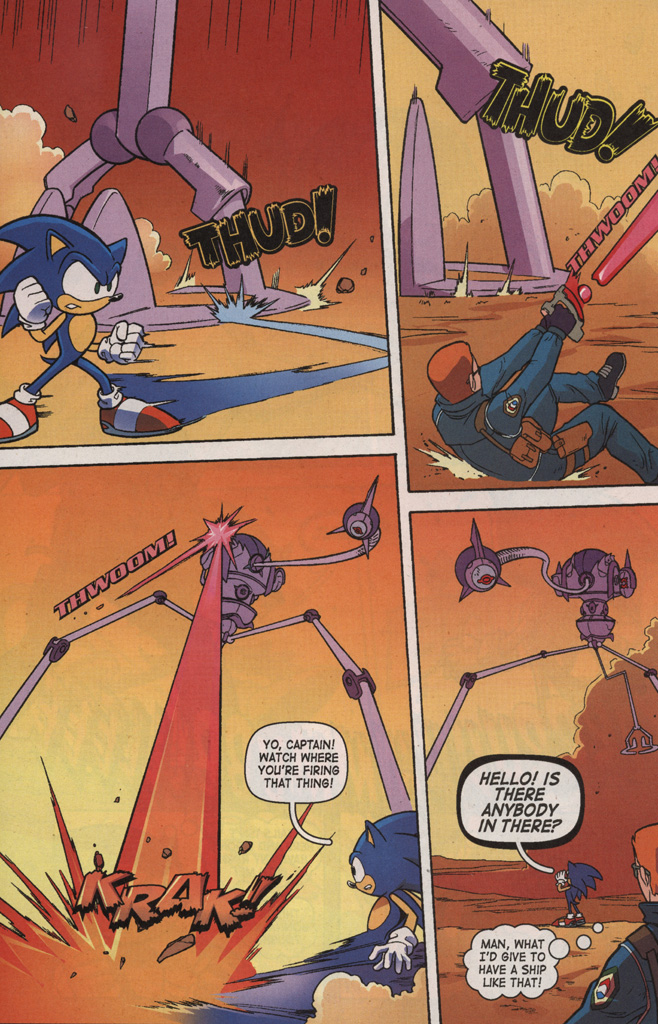 Read online Sonic X comic -  Issue #7 - 26