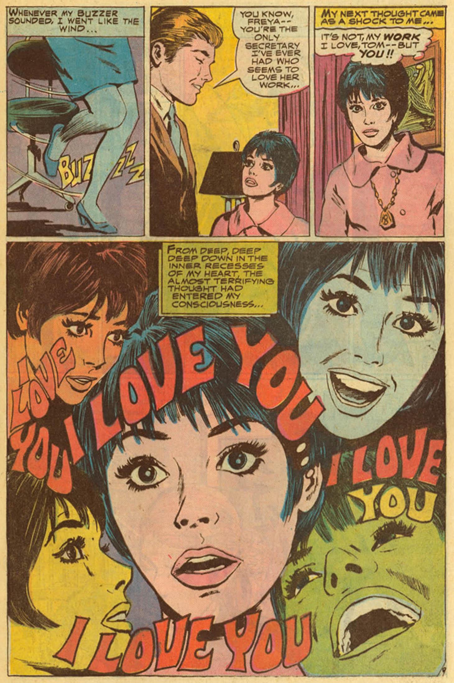 Read online Secret Hearts comic -  Issue #139 - 29