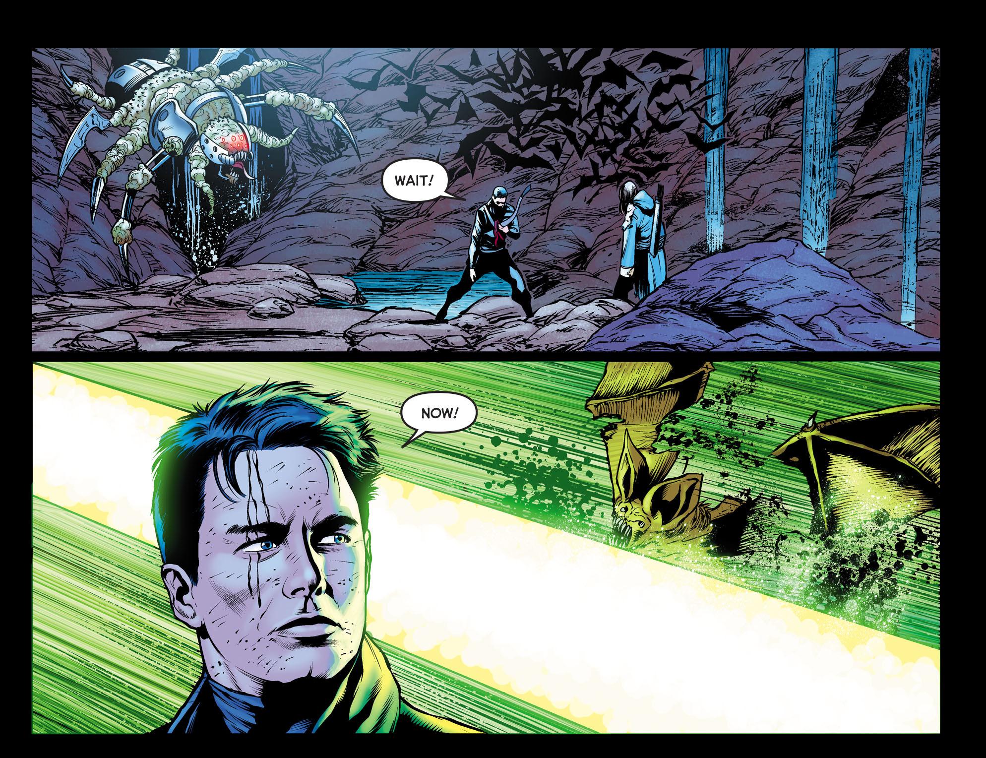 Read online Arrow: The Dark Archer comic -  Issue #10 - 19