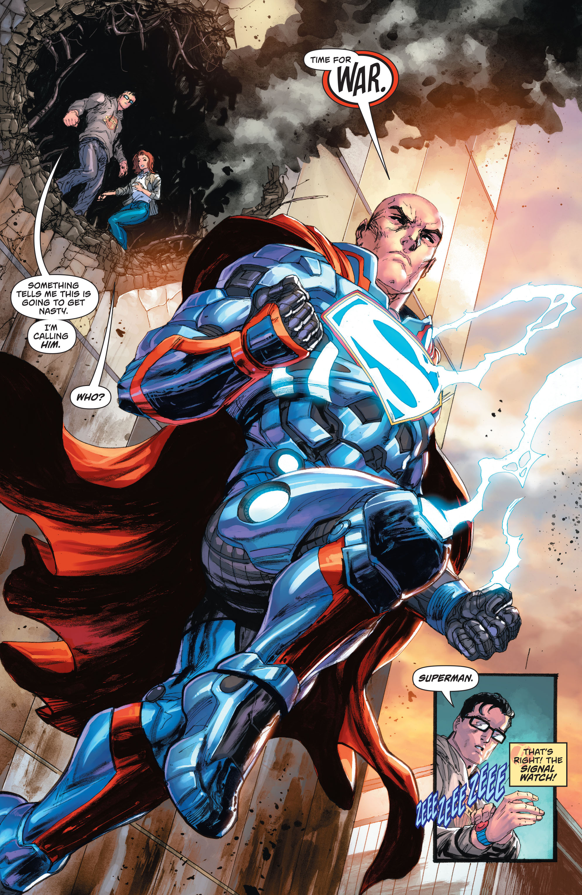 Read online Action Comics (2016) comic -  Issue #967 - 17