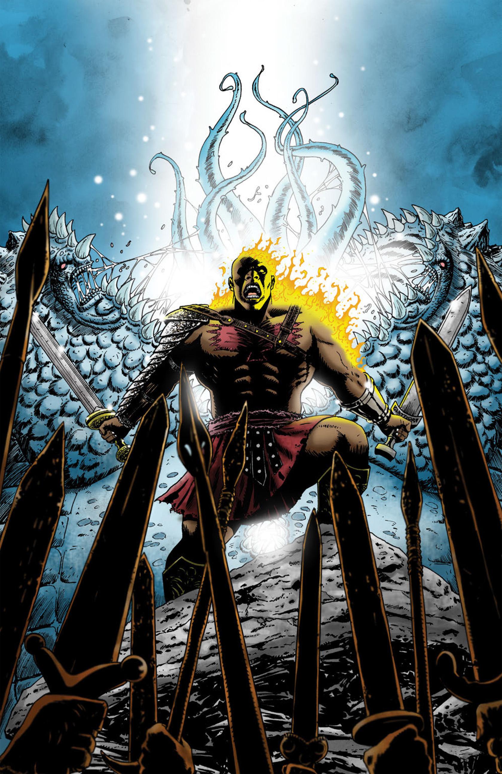 Read online Aquila comic -  Issue #1 - 3
