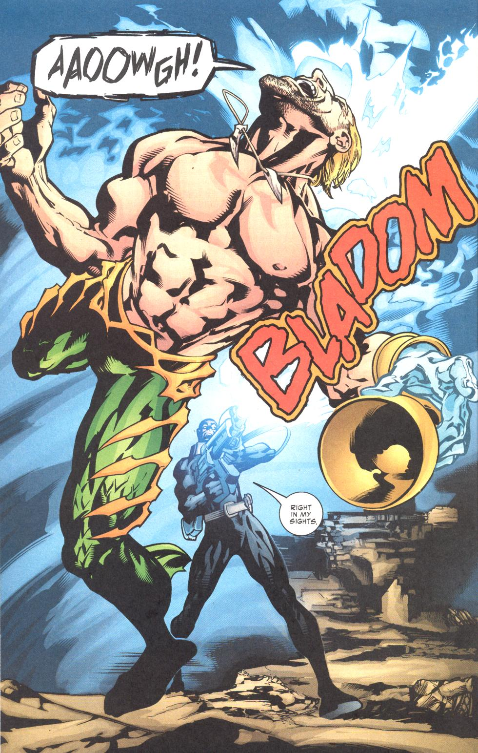 Read online Aquaman (2003) comic -  Issue #11 - 17
