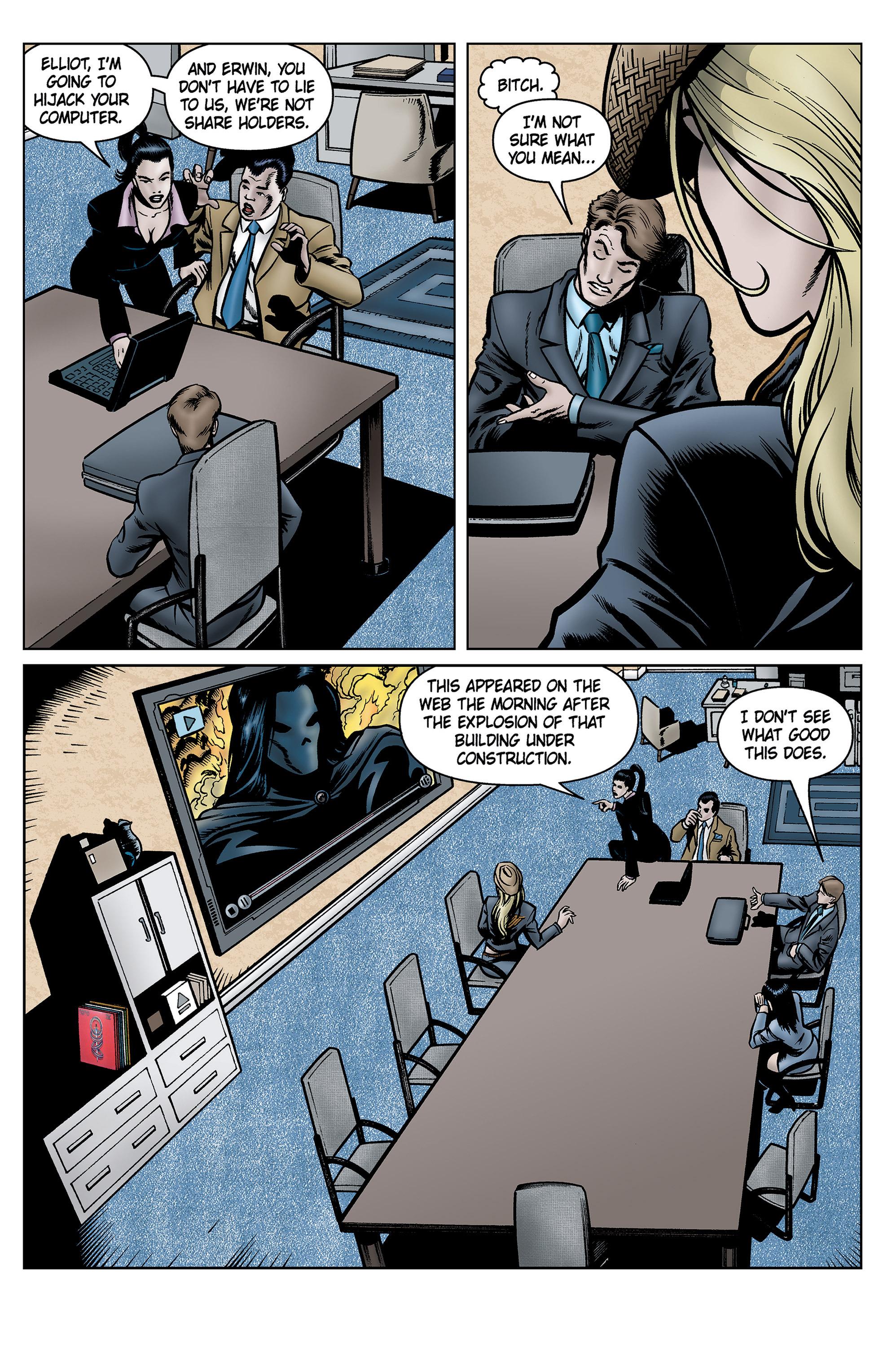 Read online SideChicks comic -  Issue #5 - 25