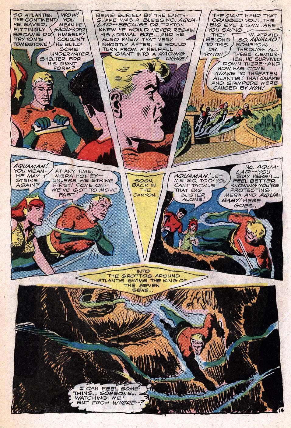 Read online Aquaman (1962) comic -  Issue #32 - 20