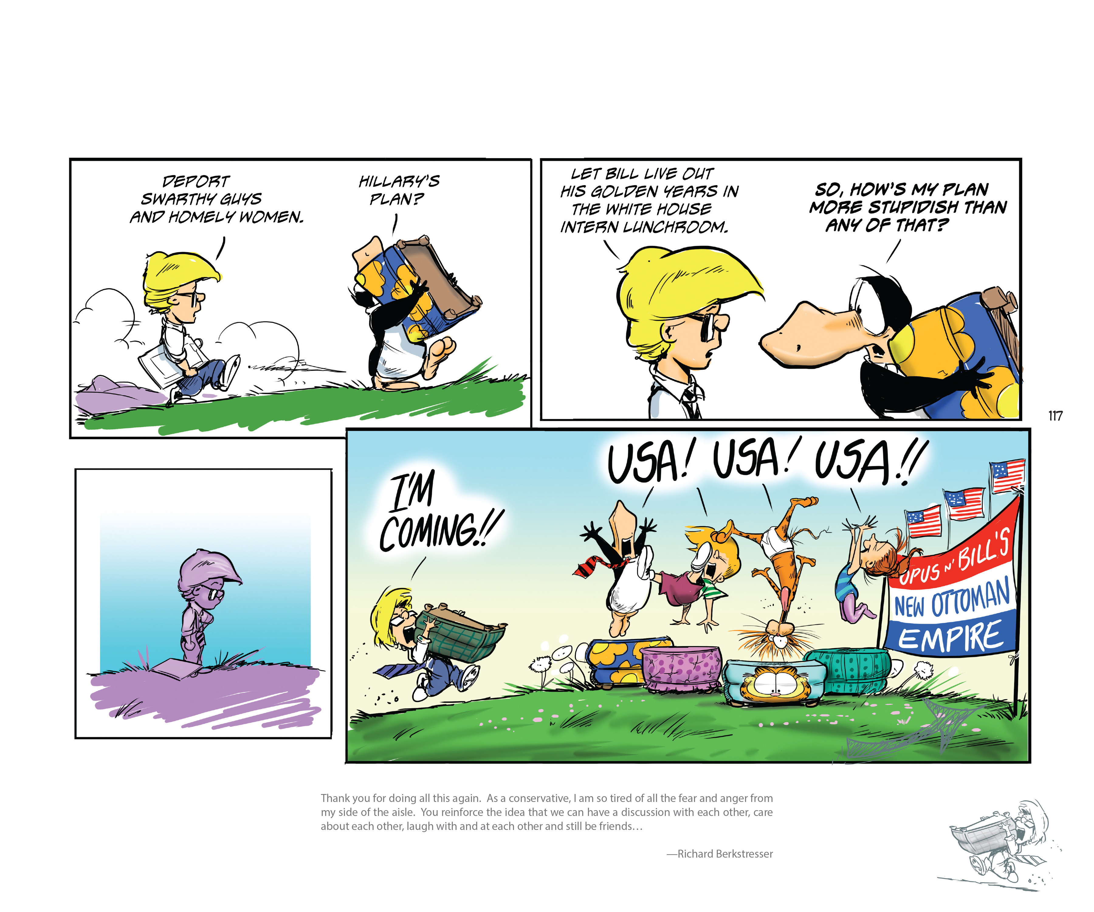 Read online Bloom County Episode XI: A New Hope comic -  Issue # Full - 119