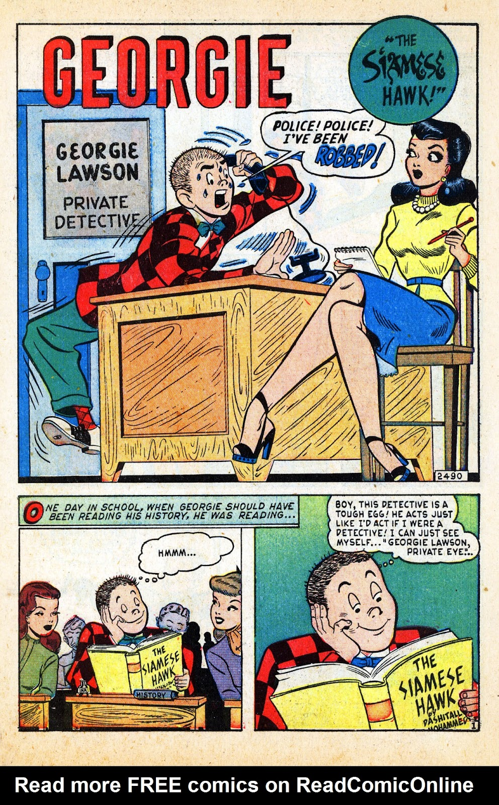 Georgie Comics (1945) issue 17 - Page 3