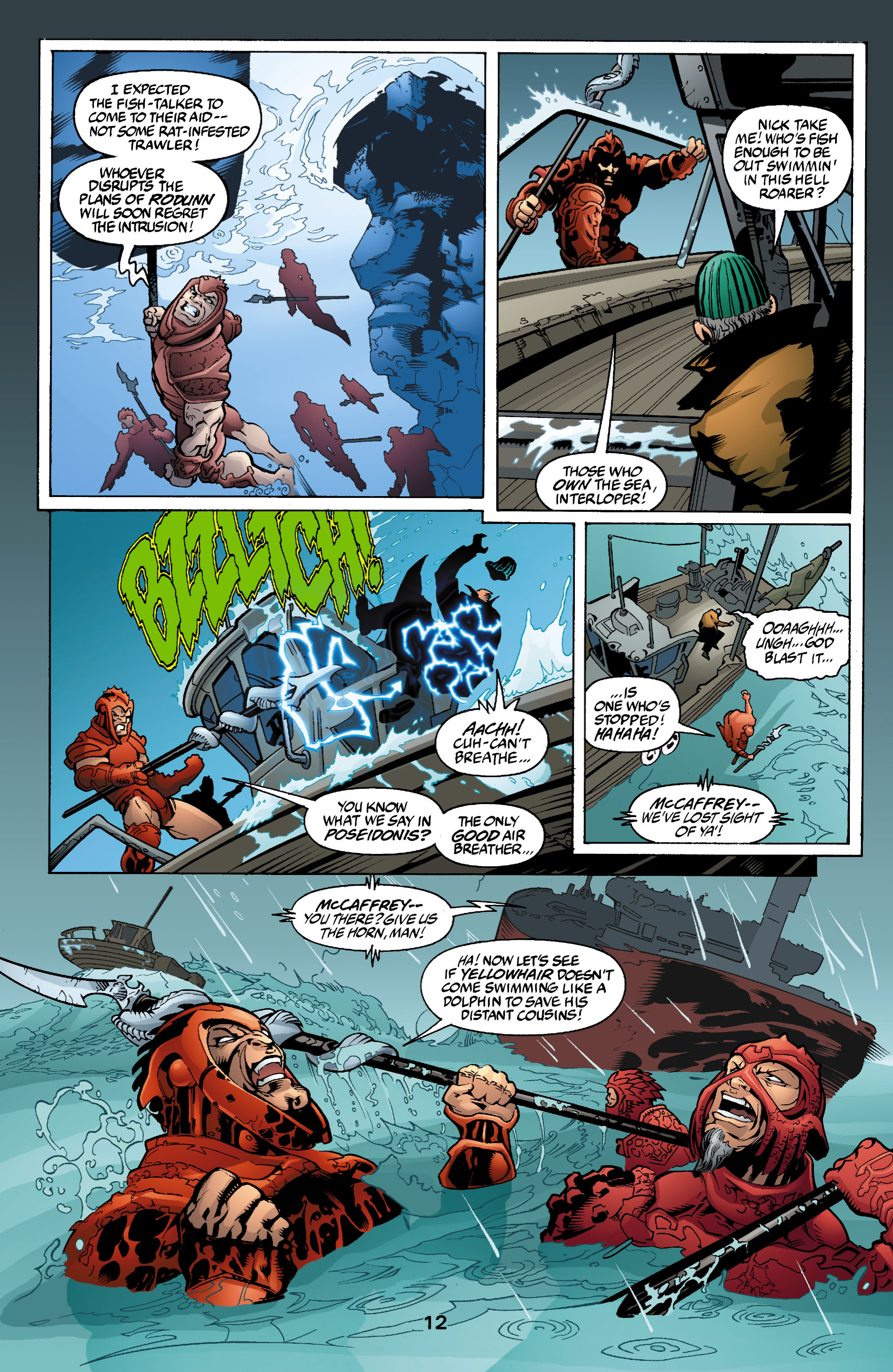 Read online Aquaman (2003) comic -  Issue #2 - 13