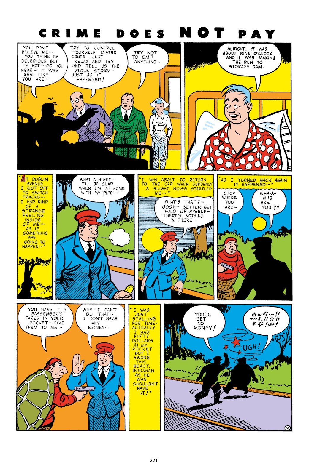 Read online Crime Does Not Pay Archives comic -  Issue # TPB 3 (Part 3) - 21