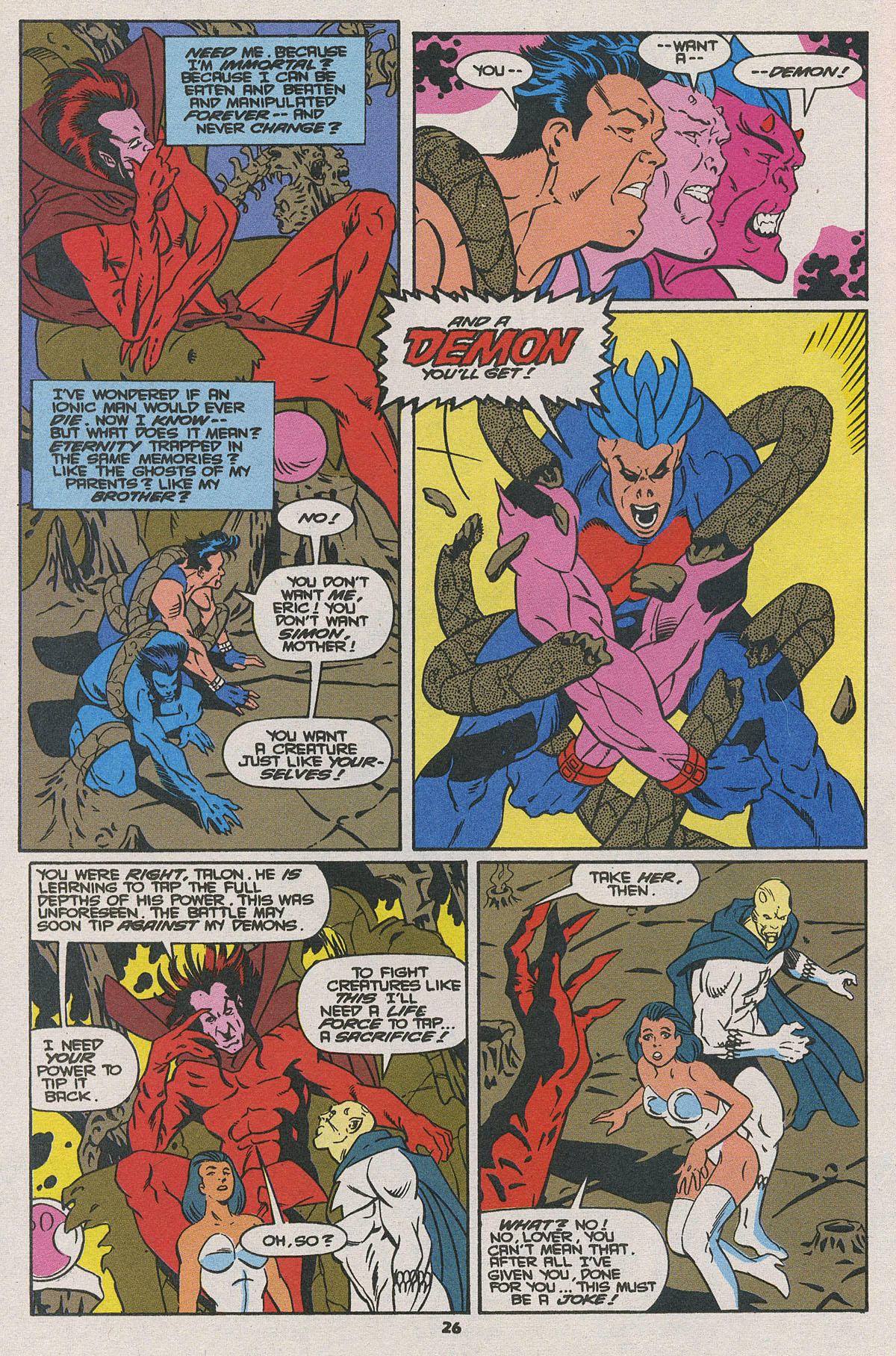 Read online Wonder Man (1991) comic -  Issue #25 - 20