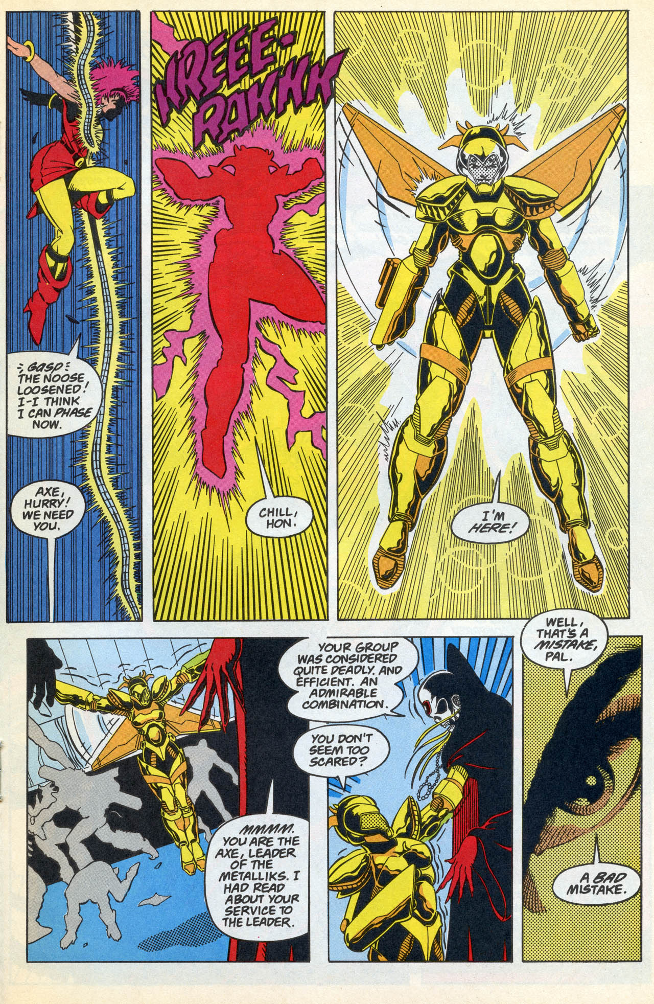 Read online Team Titans comic -  Issue #4 - 19
