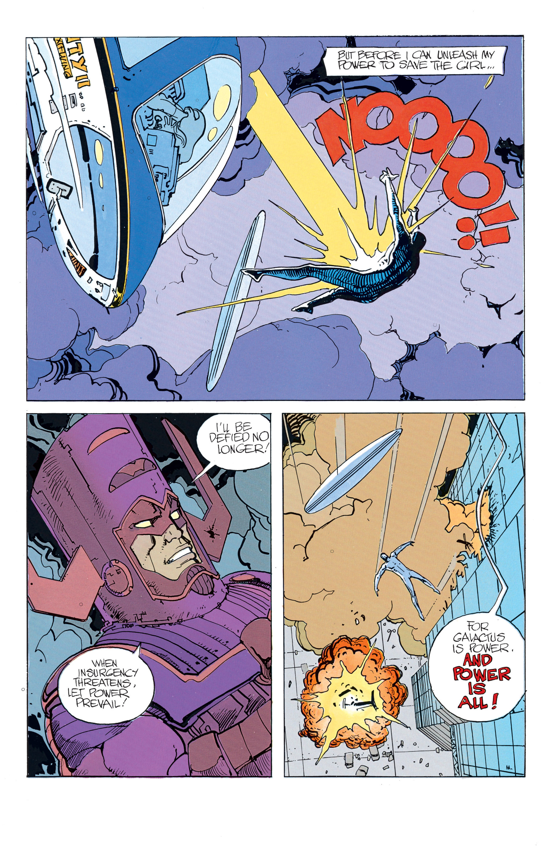 Read online Silver Surfer (1988) comic -  Issue #2 - 23