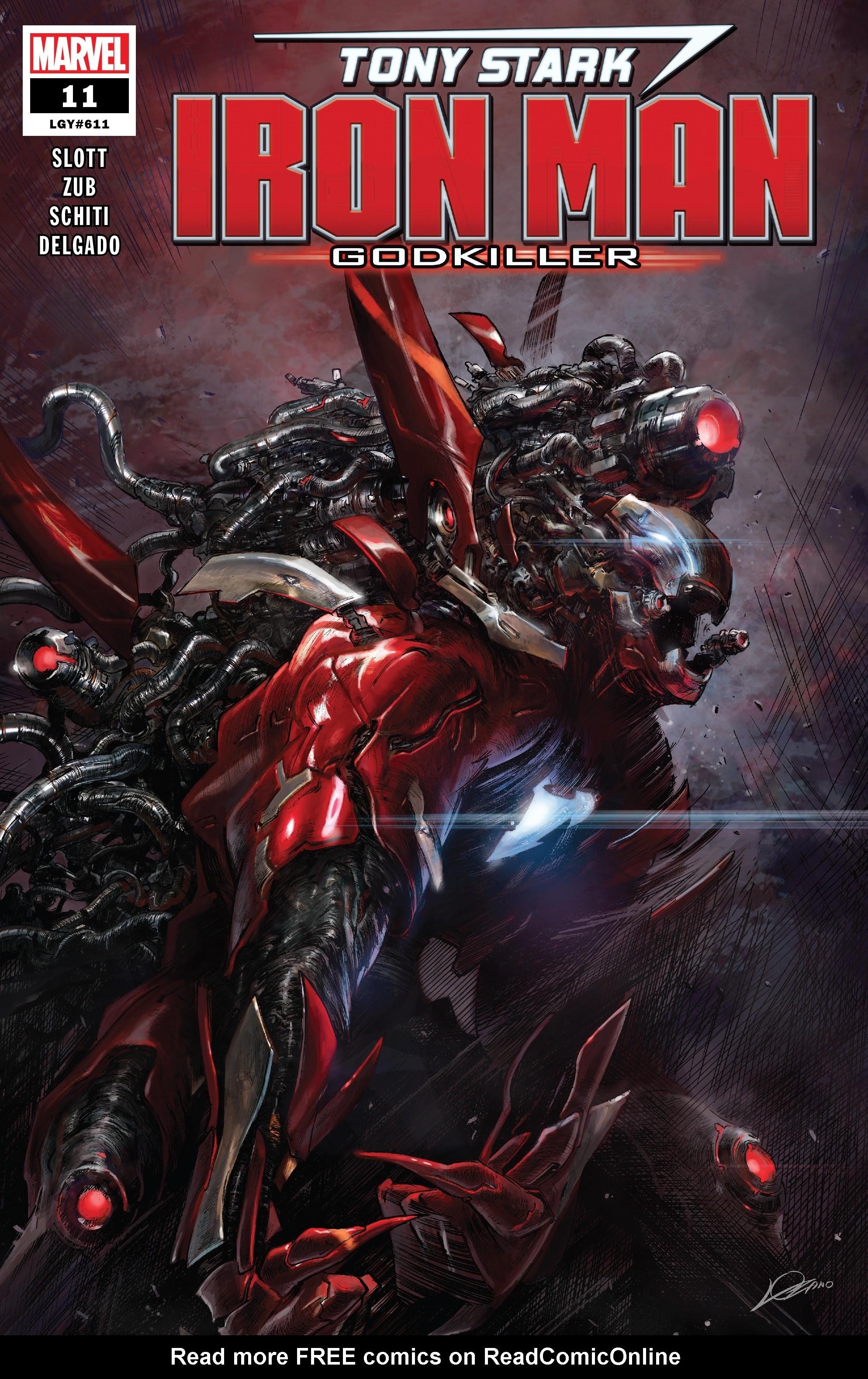 Tony Stark: Iron Man 11 Page 1