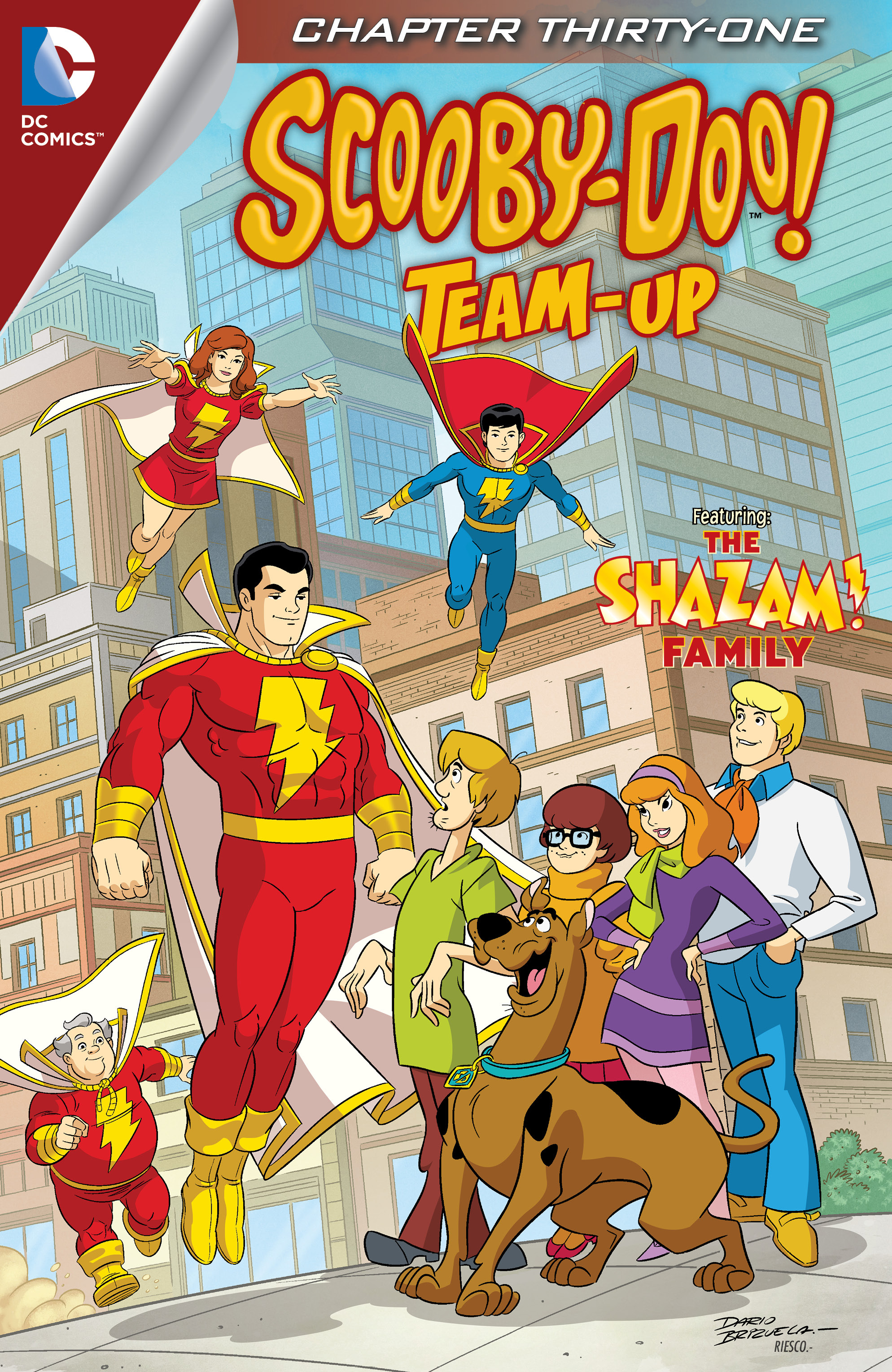 Read online Scooby-Doo! Team-Up comic -  Issue #31 - 2
