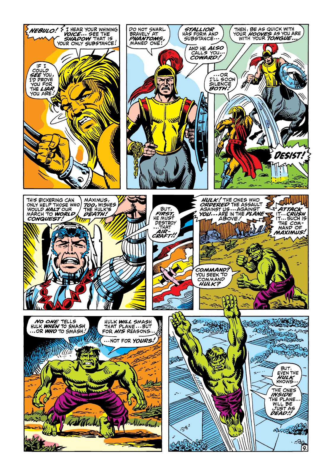 Read online Marvel Masterworks: The Incredible Hulk comic -  Issue # TPB 5 (Part 3) - 4