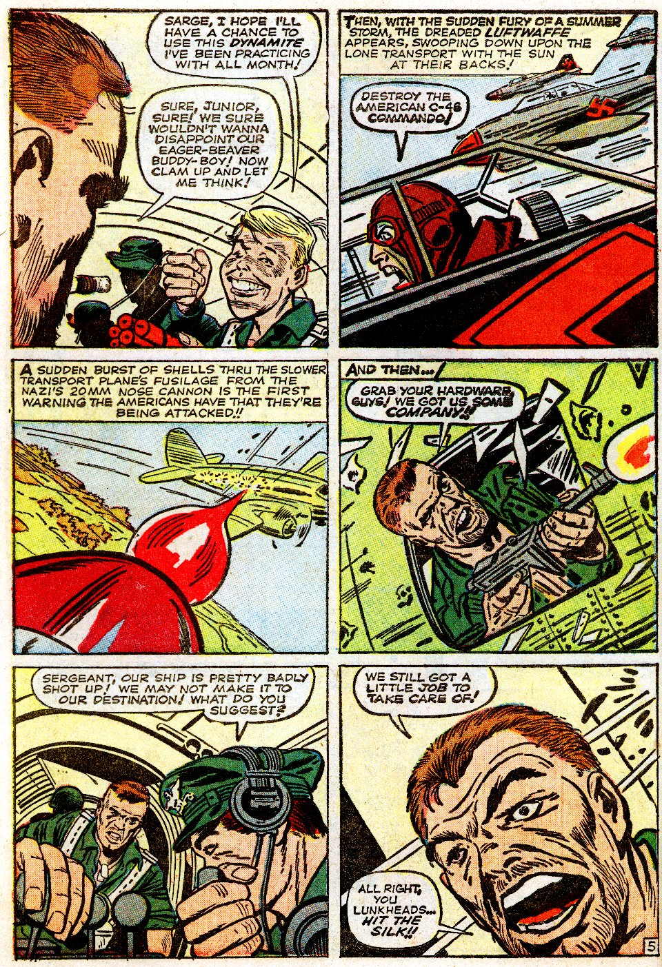 Read online Sgt. Fury comic -  Issue #1 - 10