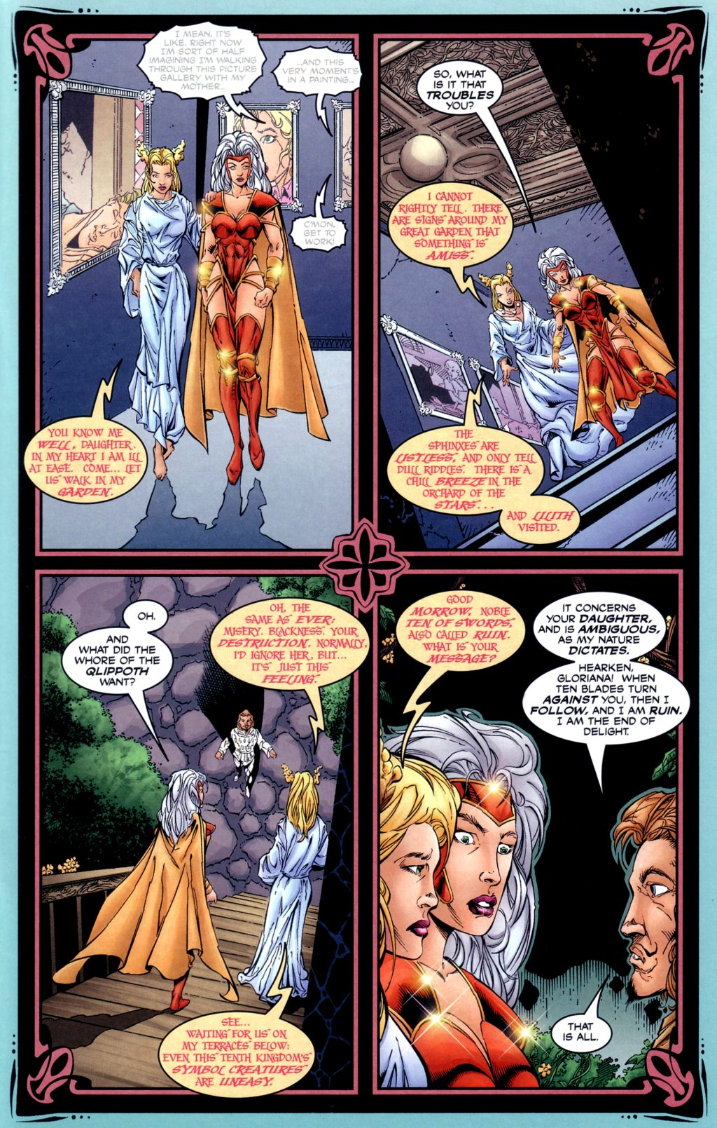 Read online Alan Moore's Glory comic -  Issue #2 - 7