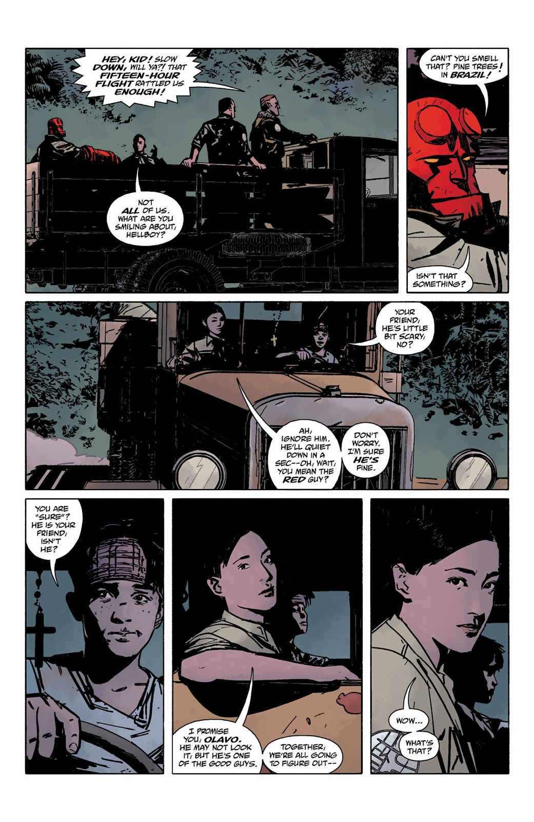 Read online Hellboy and the B.P.R.D. comic -  Issue # _TPB - 22