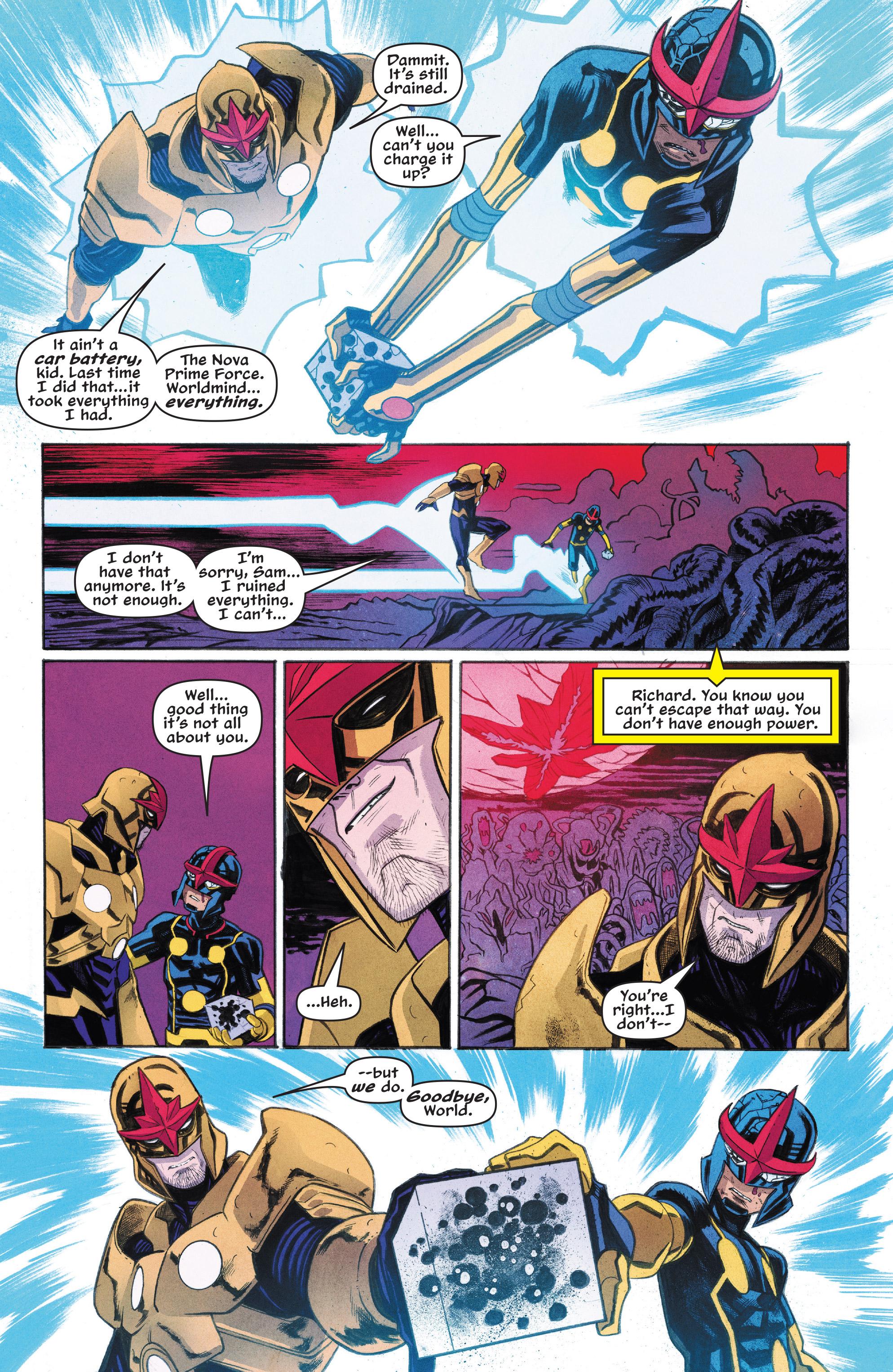 Read online Nova (2017) comic -  Issue #7 - 16
