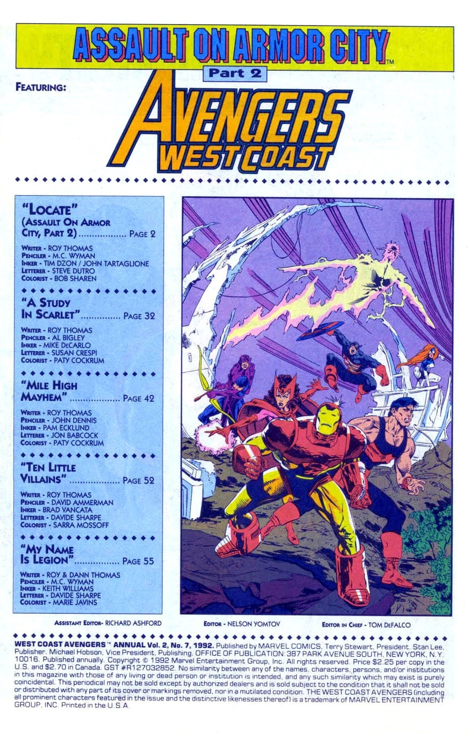Avengers West Coast (1989) Annual_7 Page 2