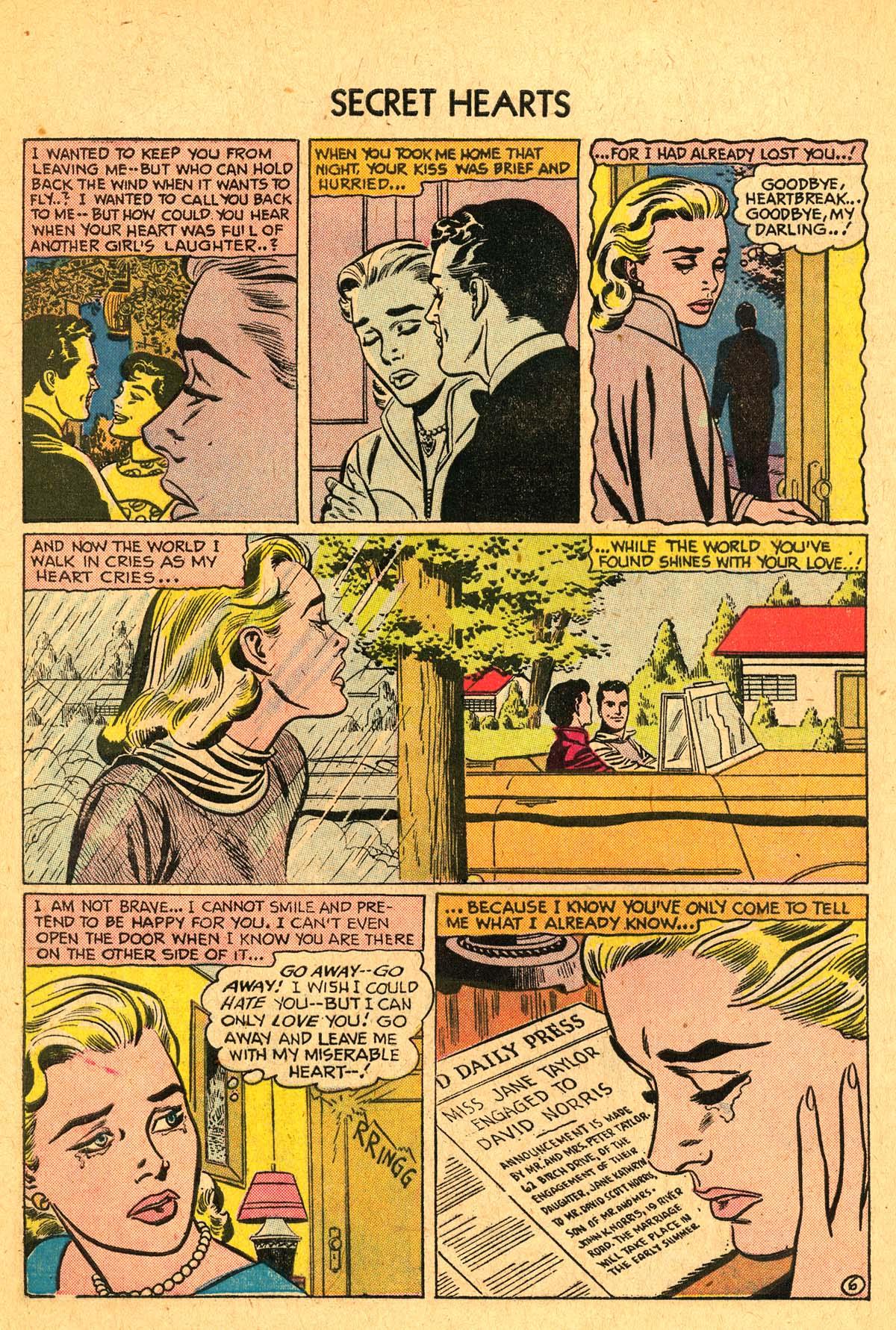Read online Secret Hearts comic -  Issue #40 - 8