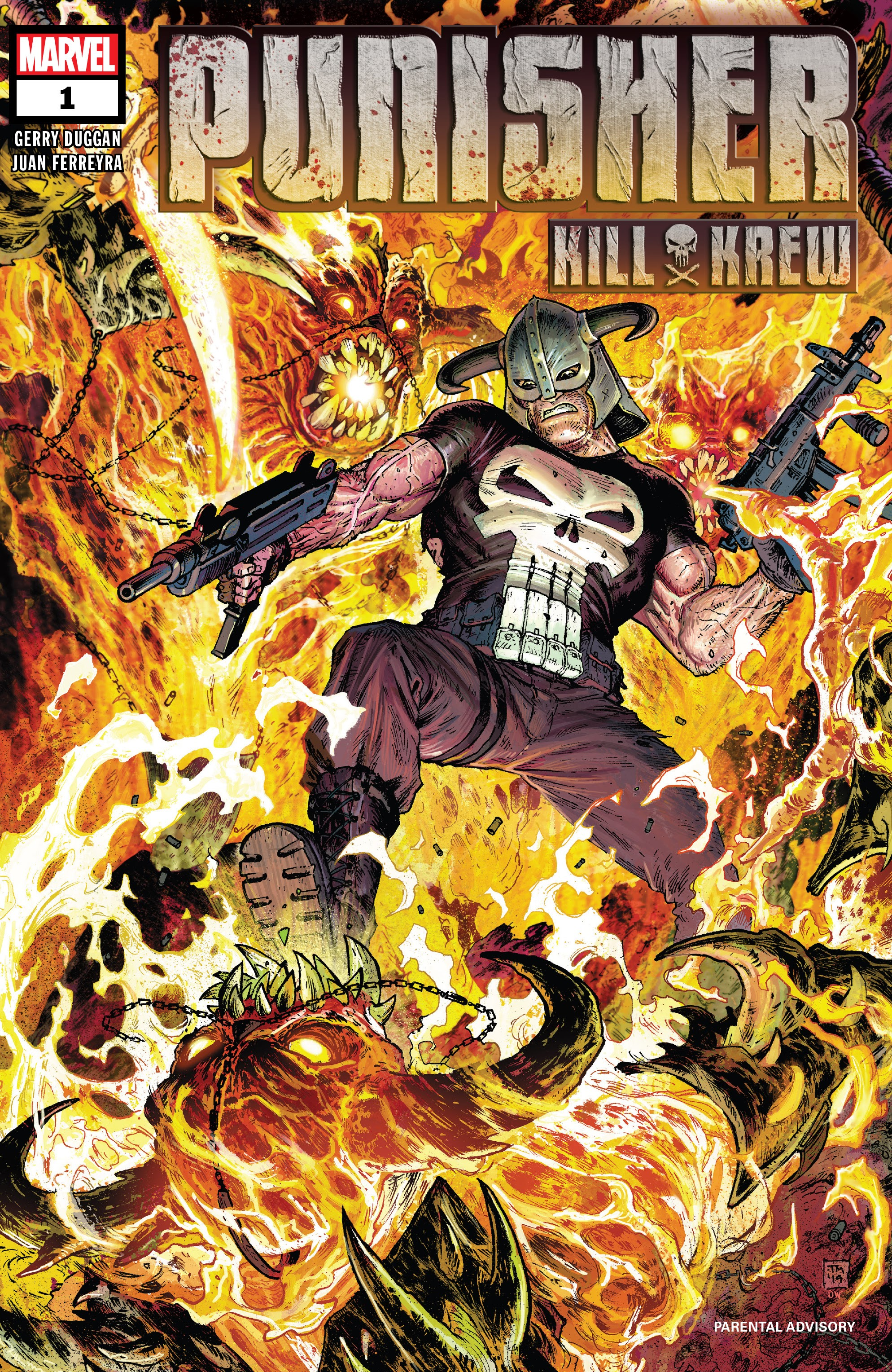 Punisher Kill Krew 1 Page 1