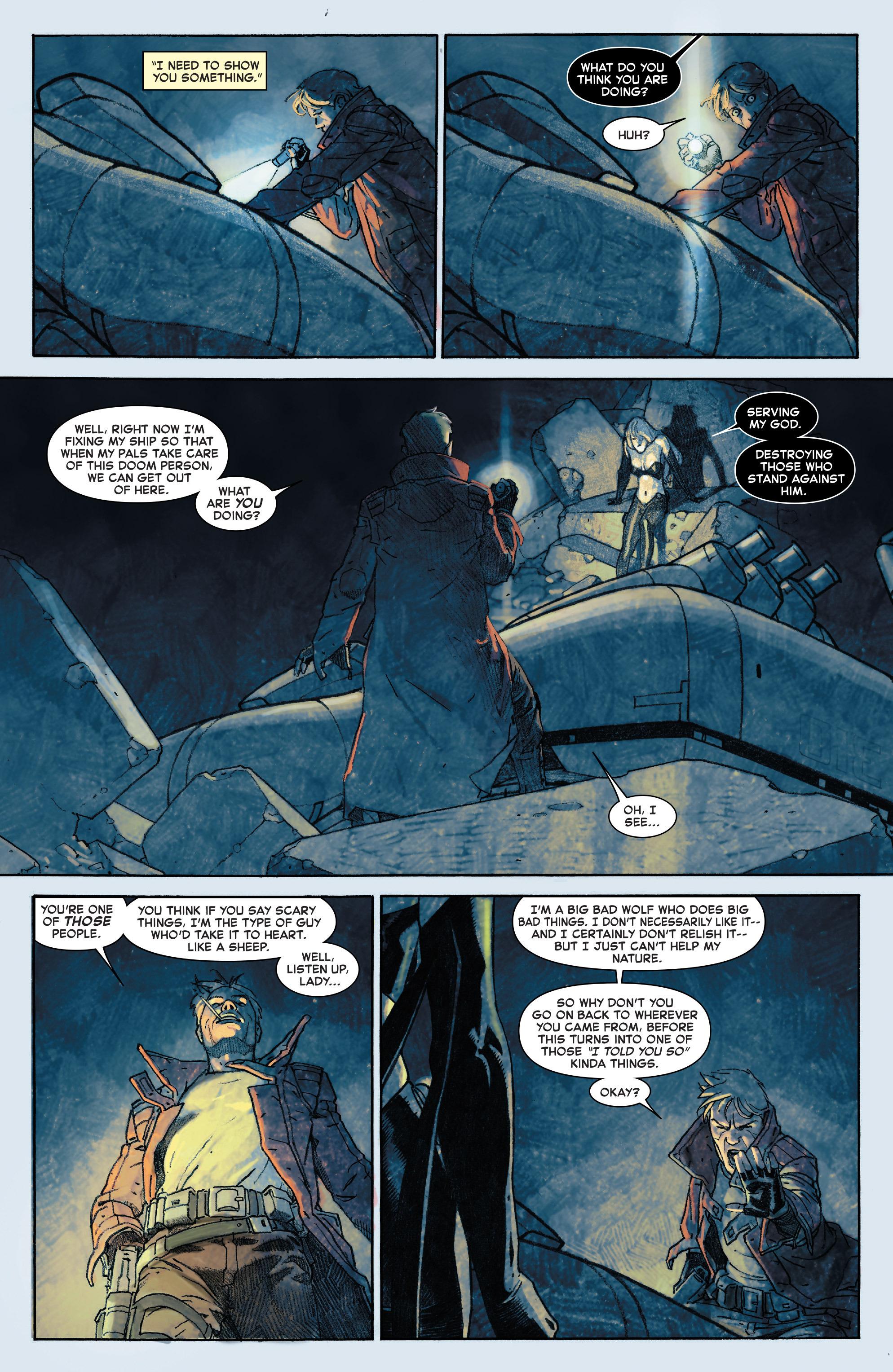 Read online Secret Wars comic -  Issue #8 - 15