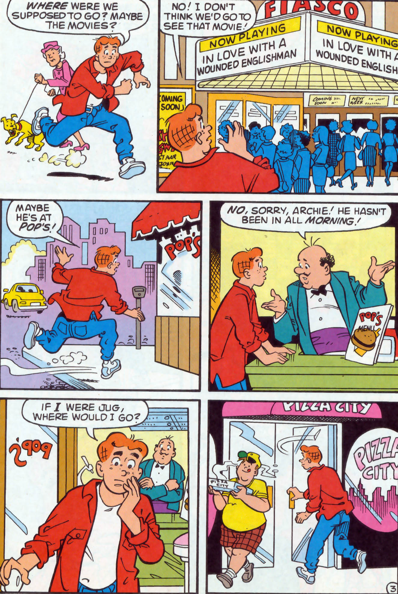 Read online Archie (1960) comic -  Issue #476 - 10