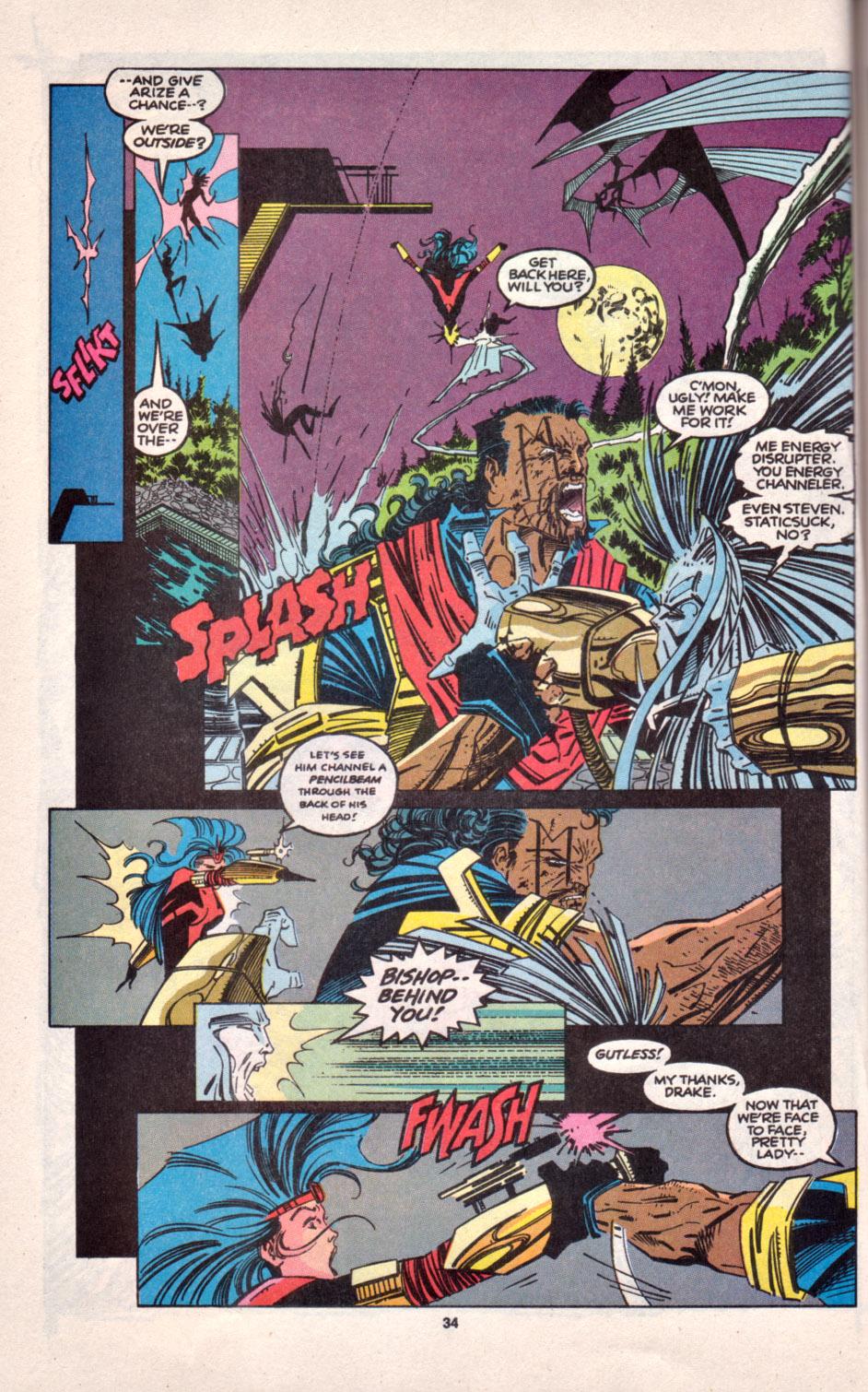 Read online Uncanny X-Men (1963) comic -  Issue # _Annual 16 - 28