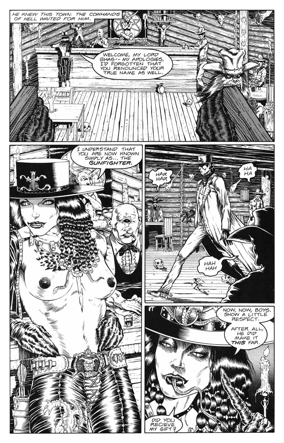 Read online Gunfighters in Hell comic -  Issue #3 - 18