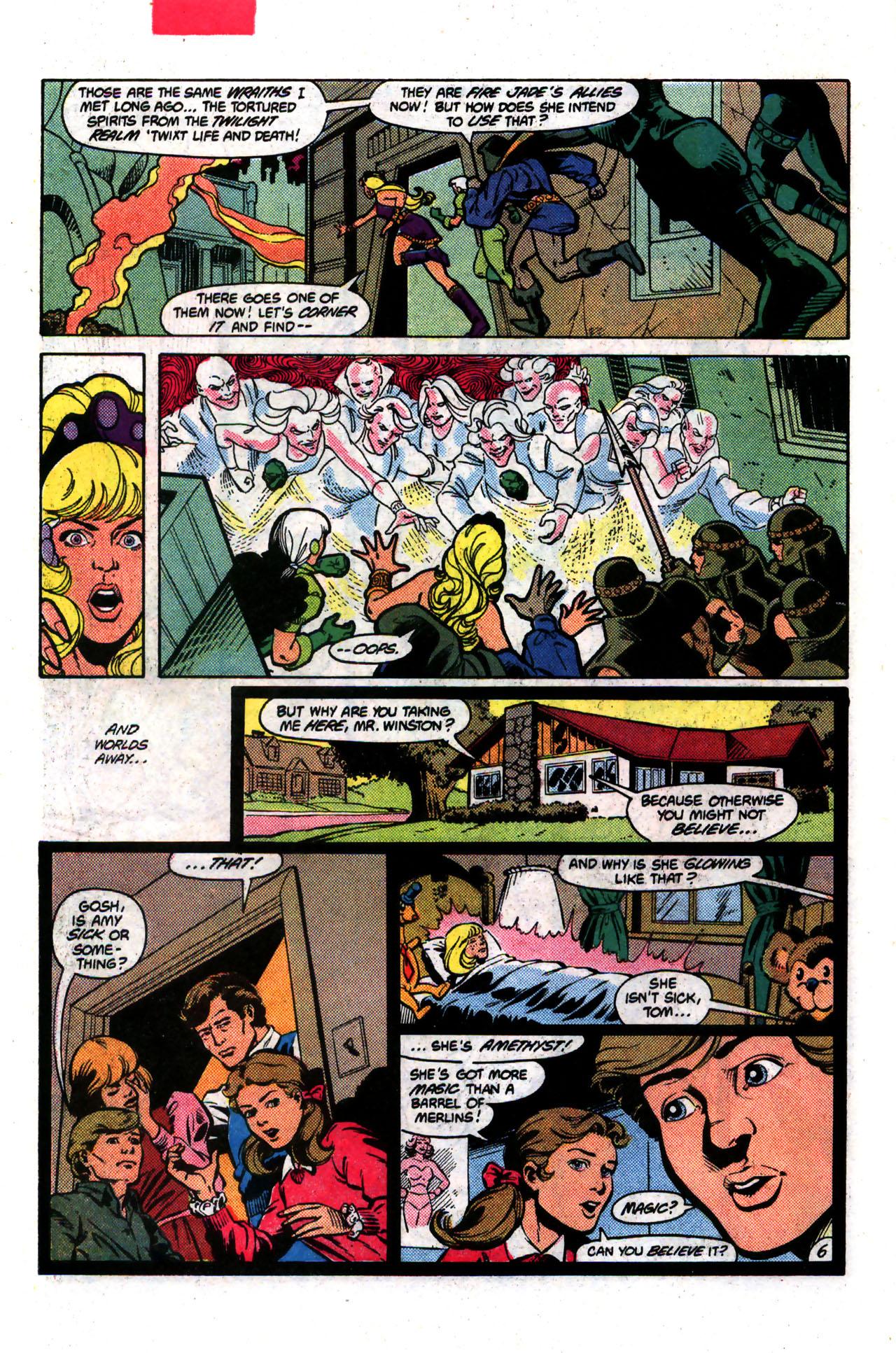 Read online Amethyst (1985) comic -  Issue #8 - 6
