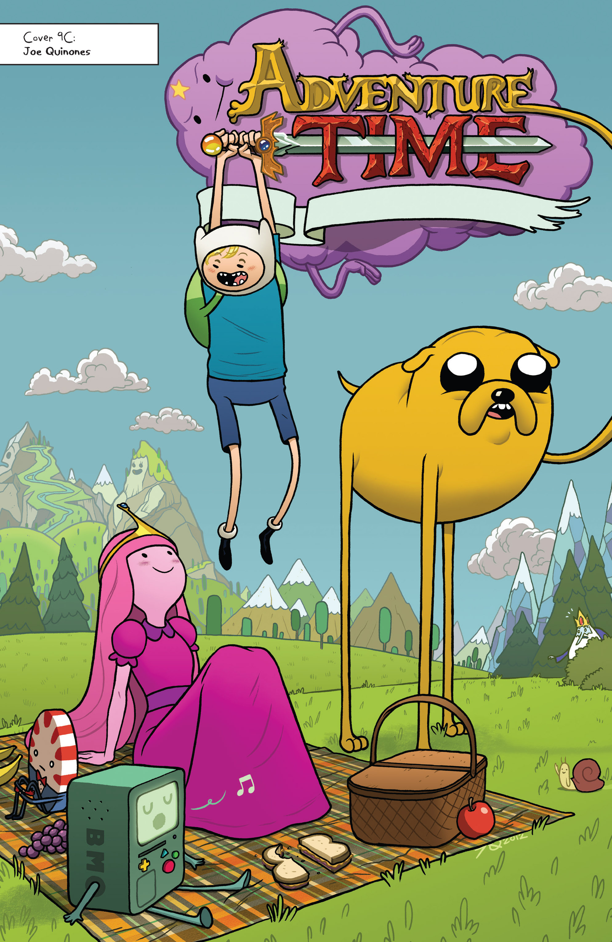Read online Adventure Time comic -  Issue #Adventure Time _TPB 2 - 112