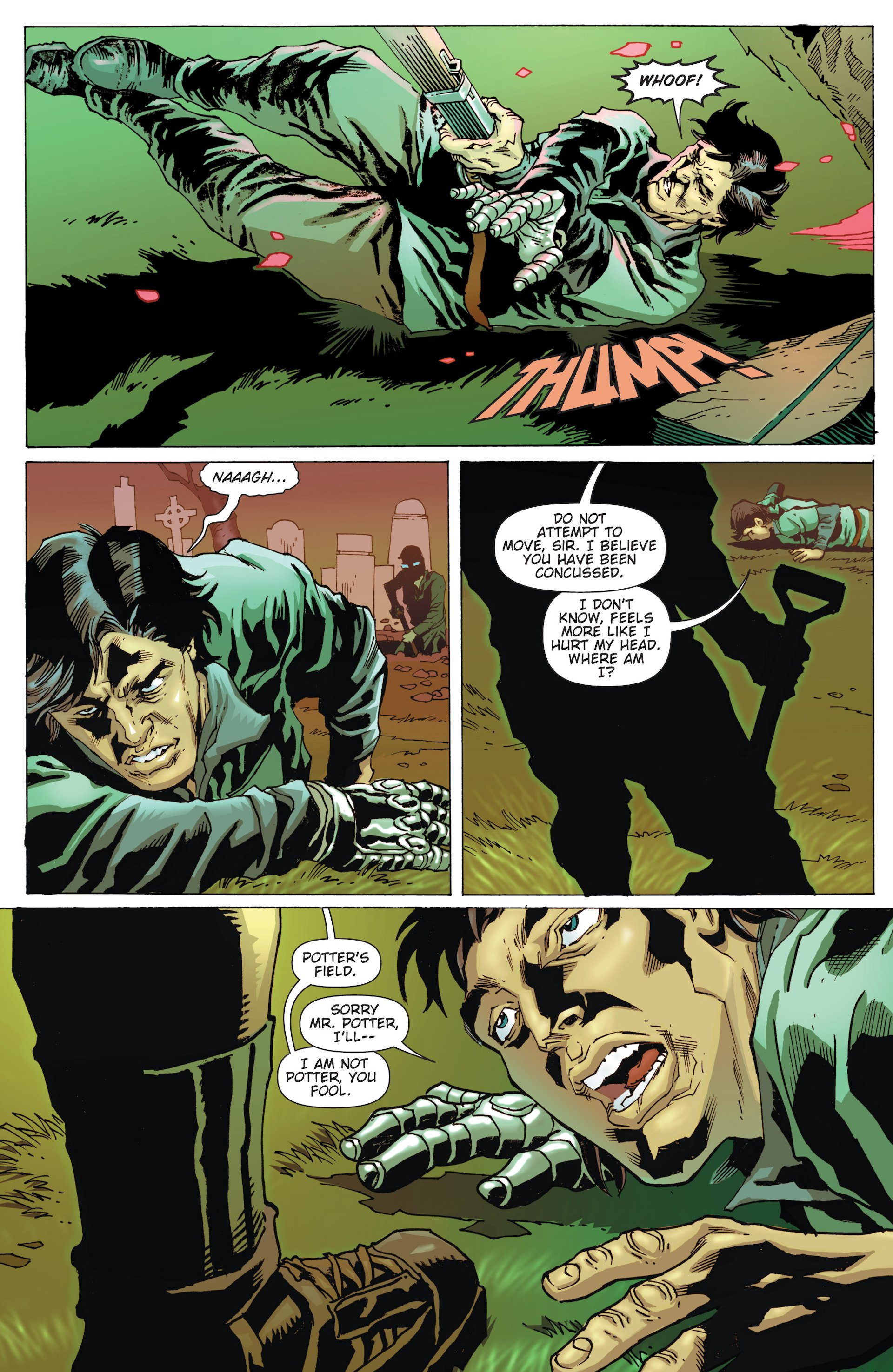 Read online Army of Darkness/Reanimator comic -  Issue #Army of Darkness/Reanimator Full - 4
