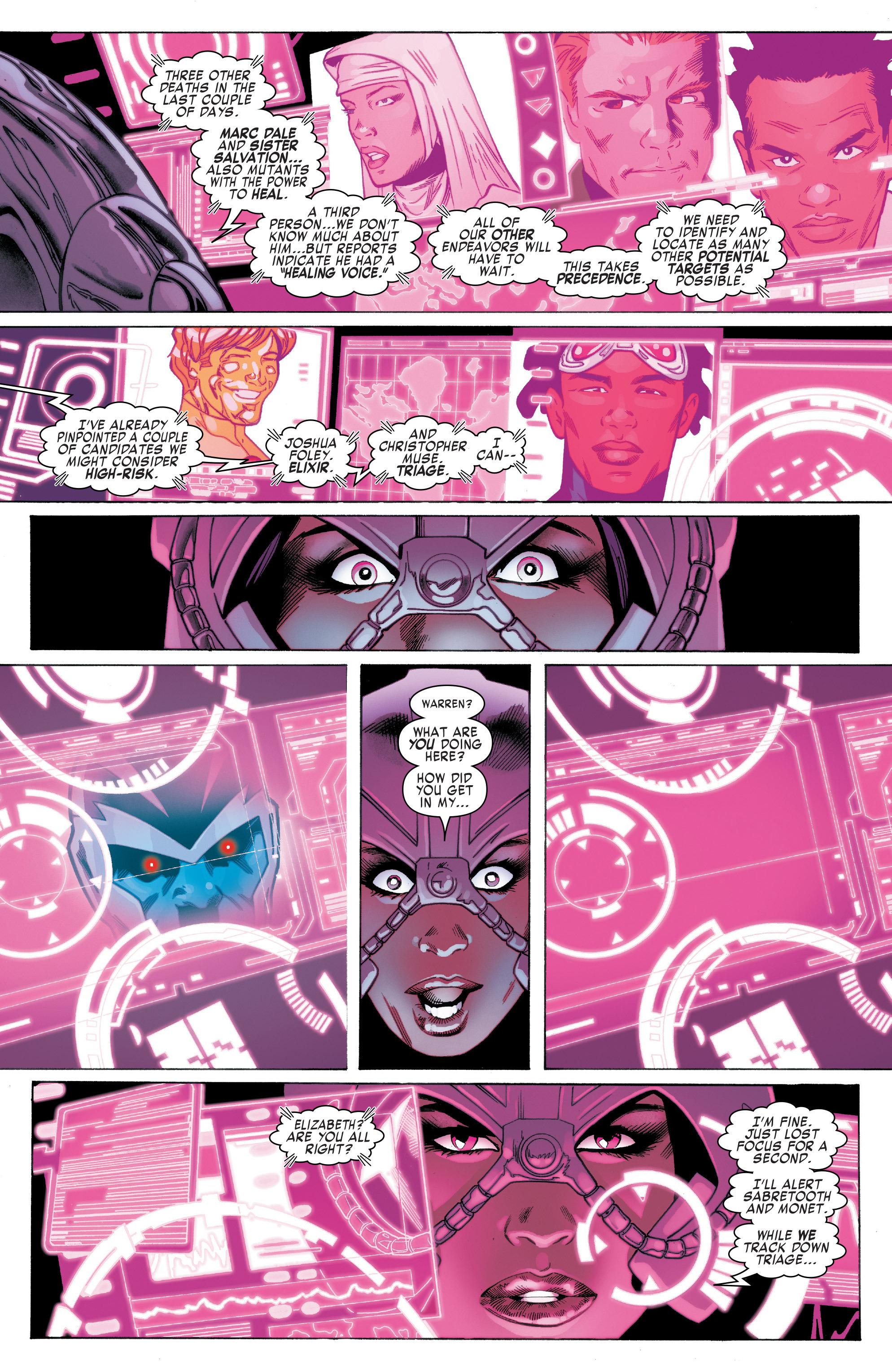 Read online Uncanny X-Men (2016) comic -  Issue #2 - 10