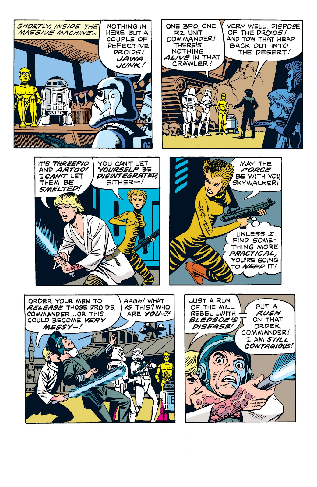 Read online Star Wars Legends: The Newspaper Strips - Epic Collection comic -  Issue # TPB (Part 2) - 44