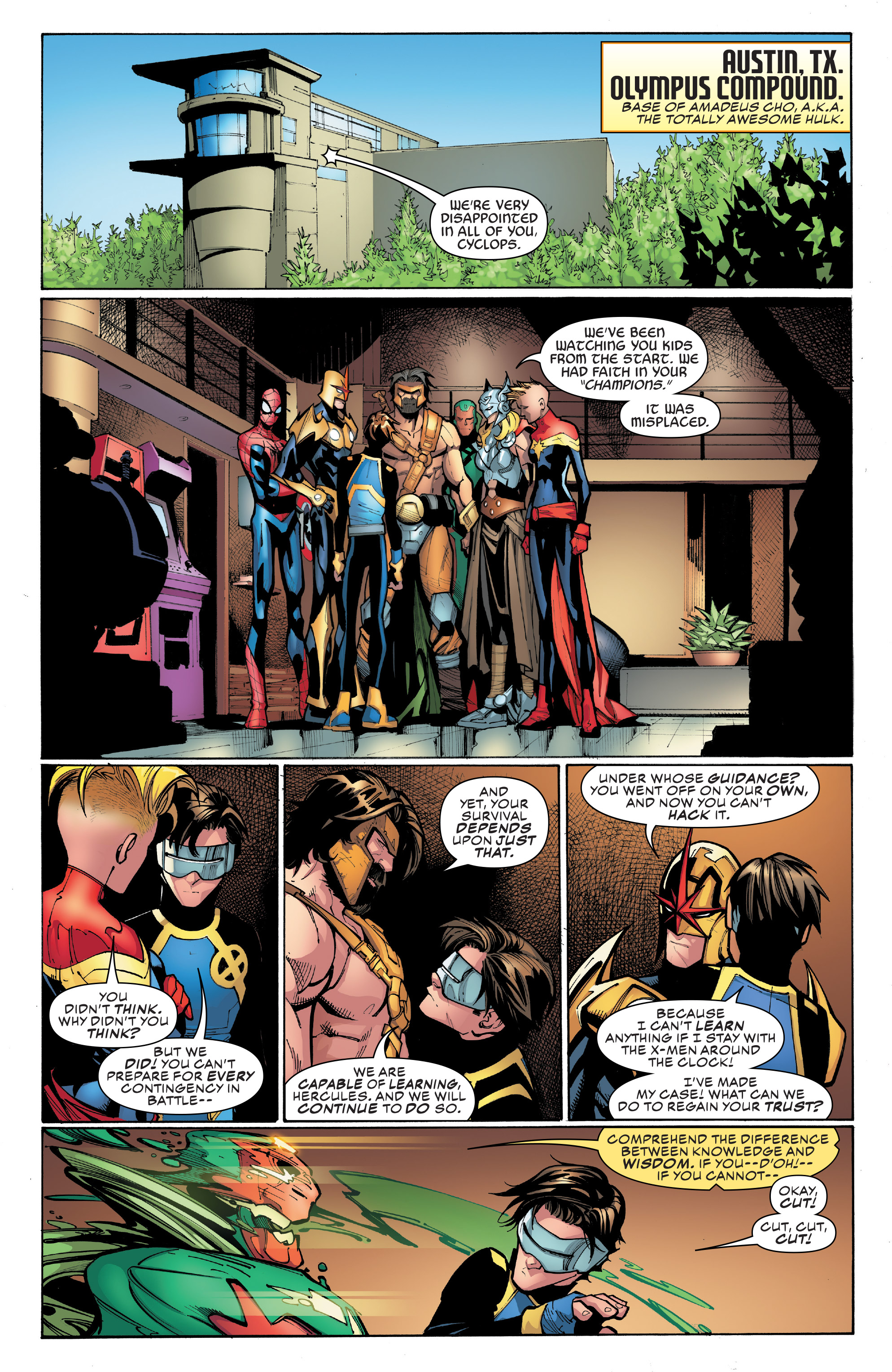 Read online Champions (2016) comic -  Issue #8 - 11
