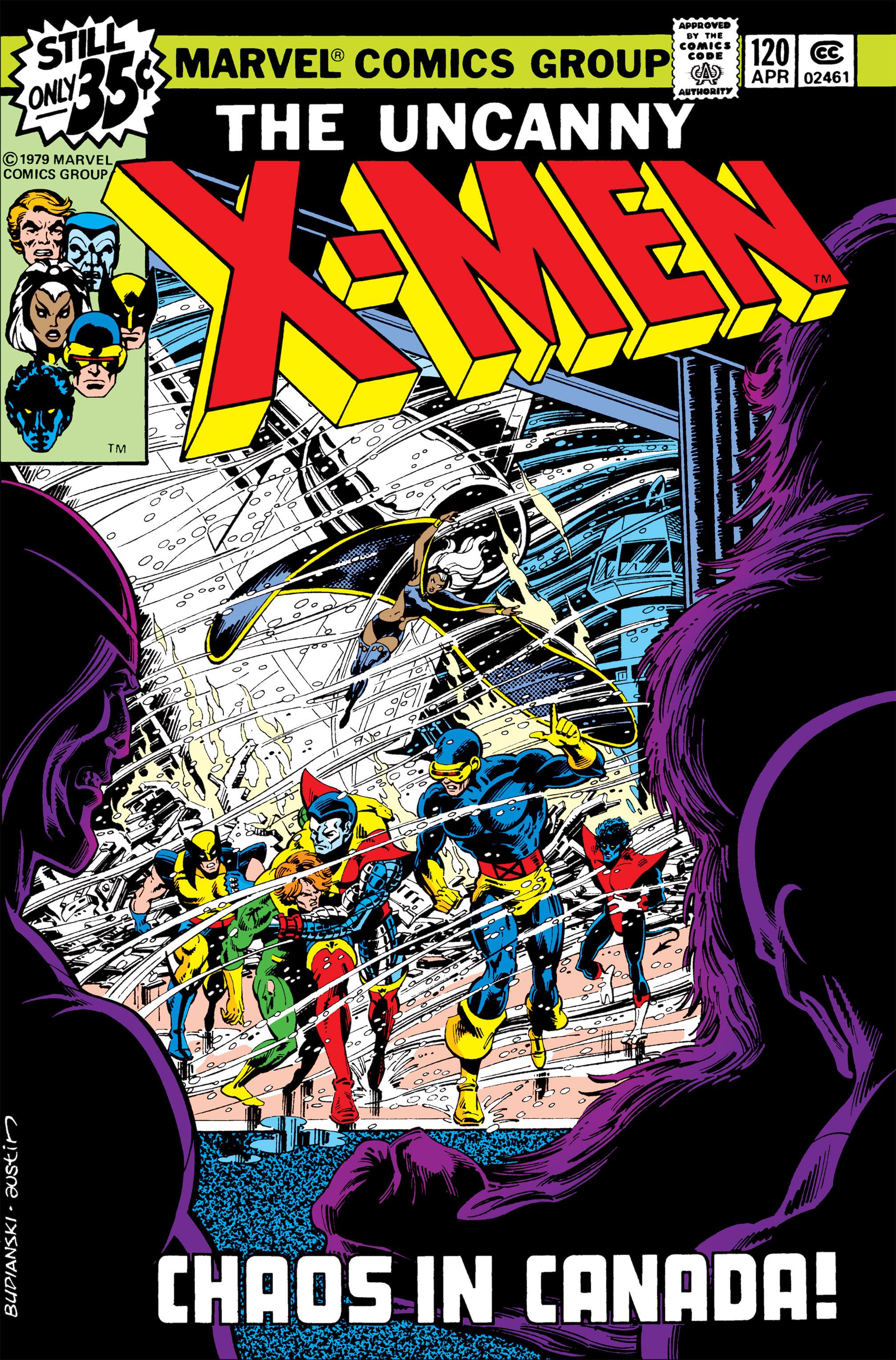 Uncanny X-Men (1963) 120 Page 1