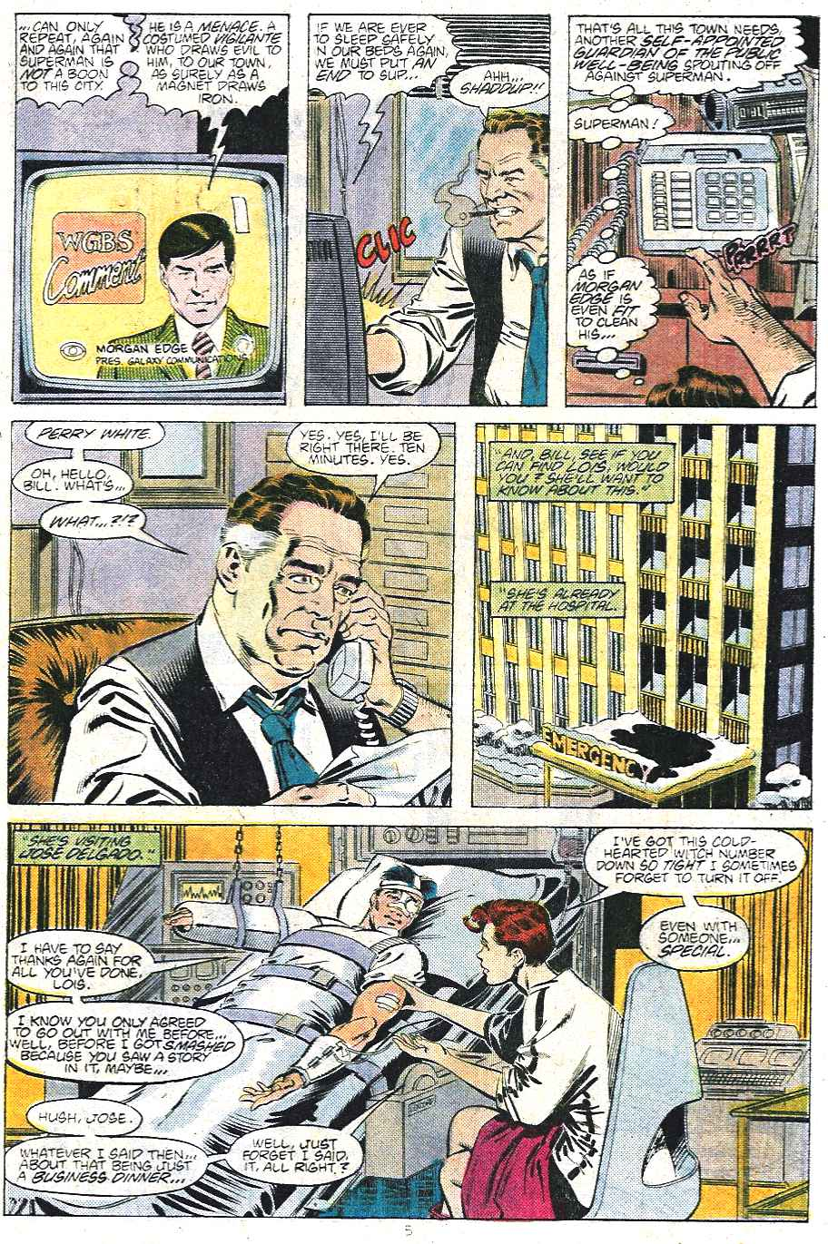 Read online Adventures of Superman (1987) comic -  Issue #439 - 6