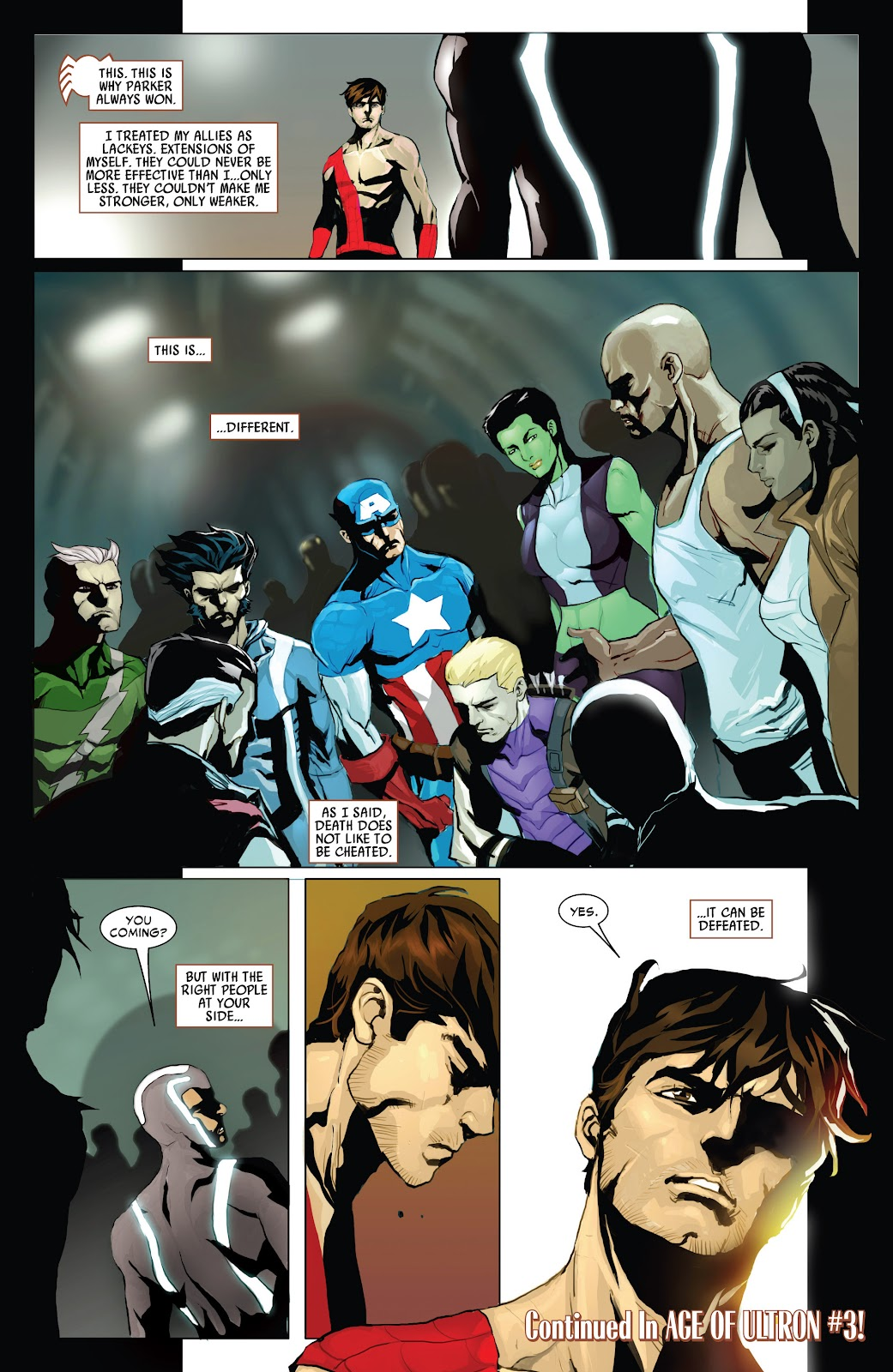Read online Age of Ultron Companion comic -  Issue # TPB (Part 1) - 91