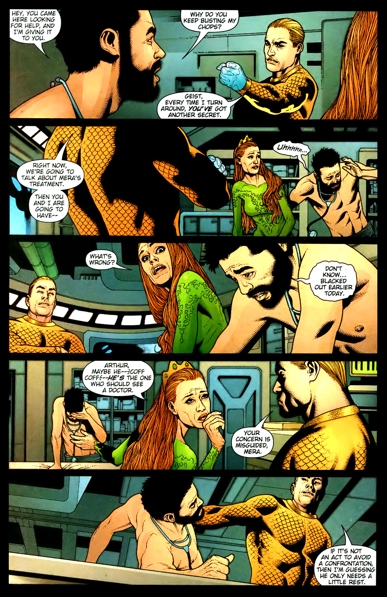 Read online Aquaman (2003) comic -  Issue #35 - 3