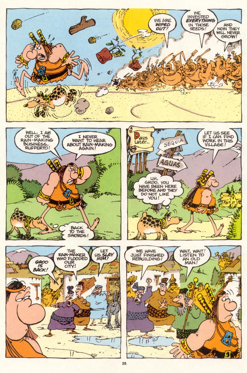 Read online Sergio Aragonés Groo the Wanderer comic -  Issue #113 - 27