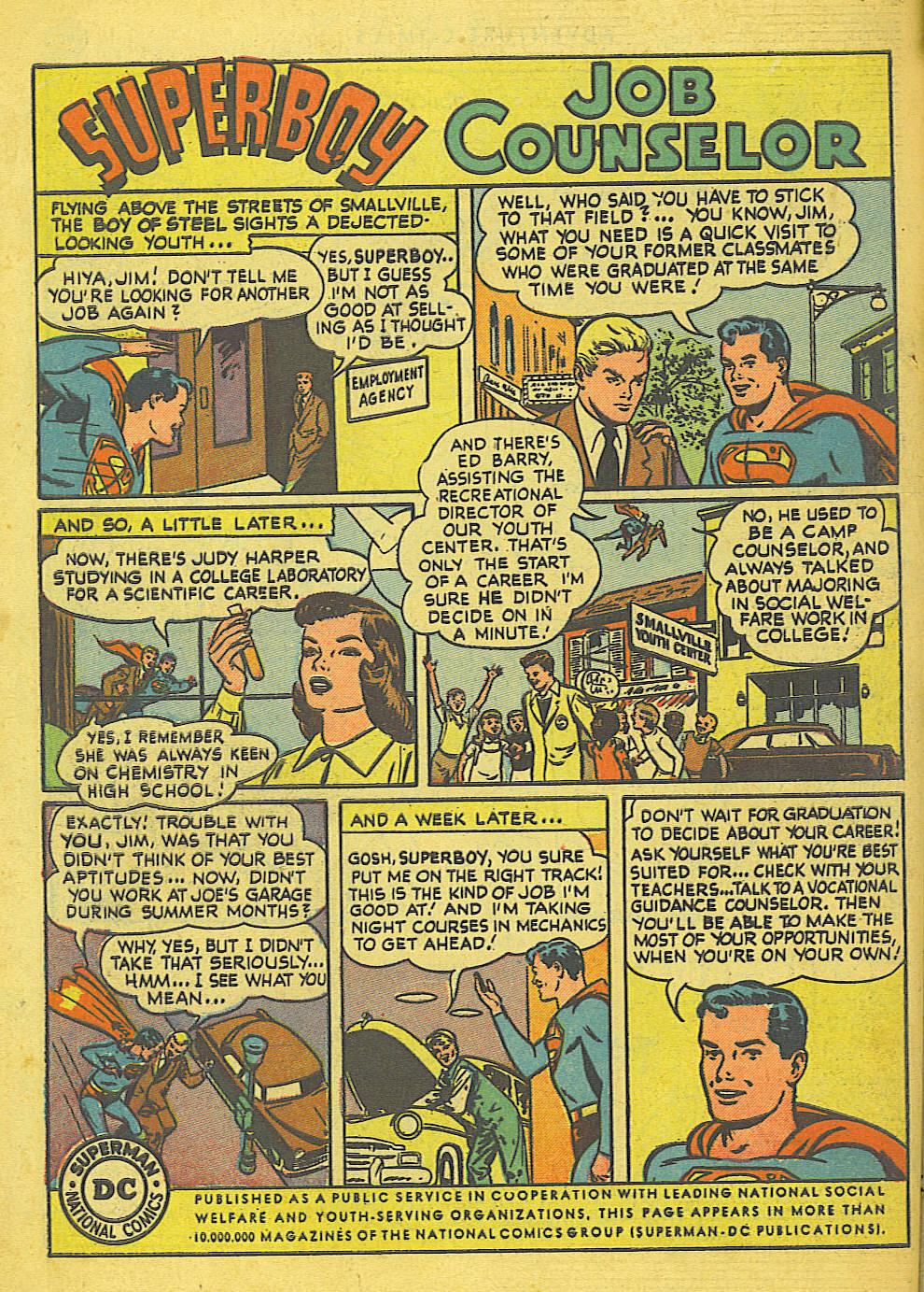 Read online Adventure Comics (1938) comic -  Issue #155 - 50