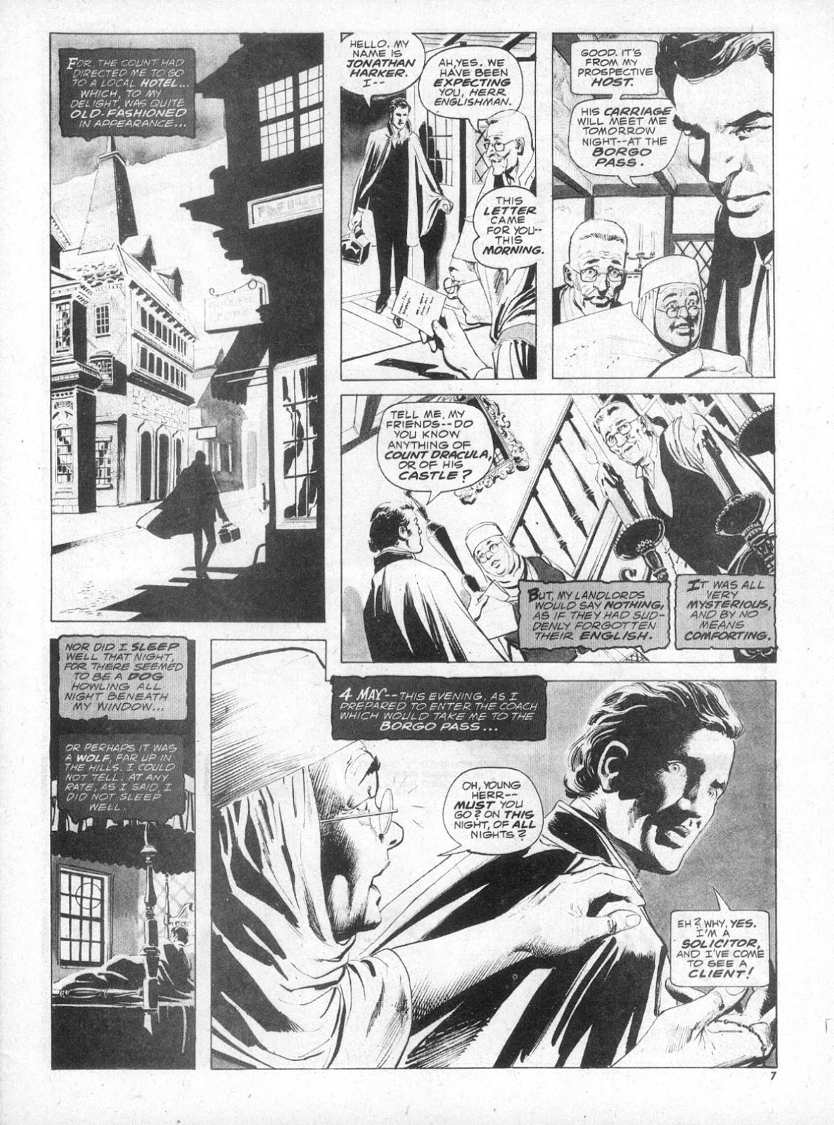 Dracula Lives issue 5 - Page 8