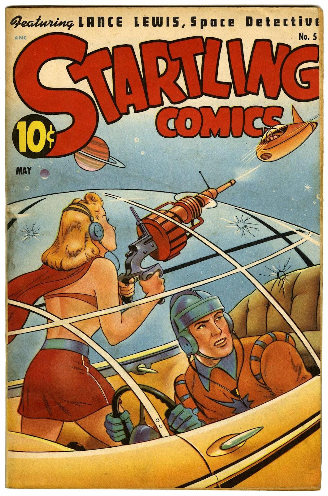 Startling Comics 51 Page 1