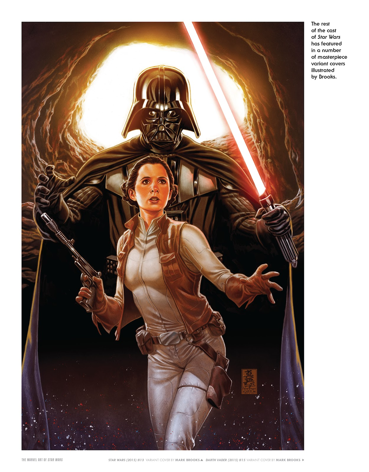 Read online The Marvel Art of Star Wars comic -  Issue # TPB (Part 2) - 44