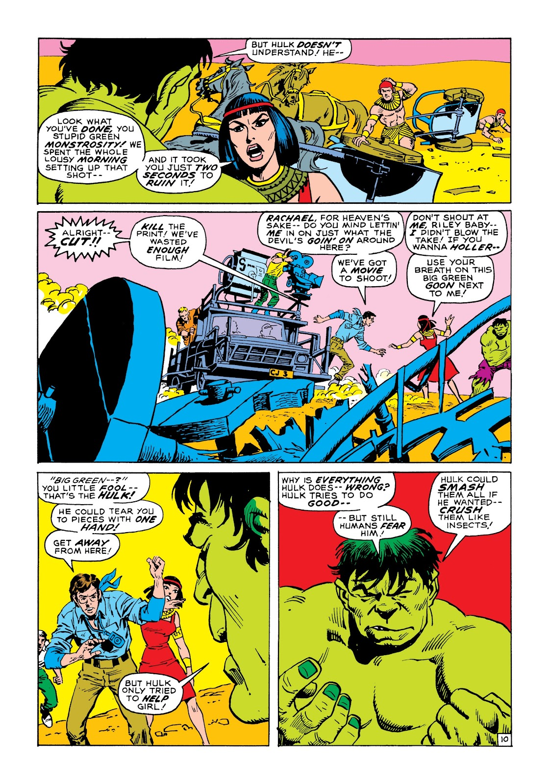 Read online Marvel Masterworks: The Incredible Hulk comic -  Issue # TPB 8 (Part 1) - 17