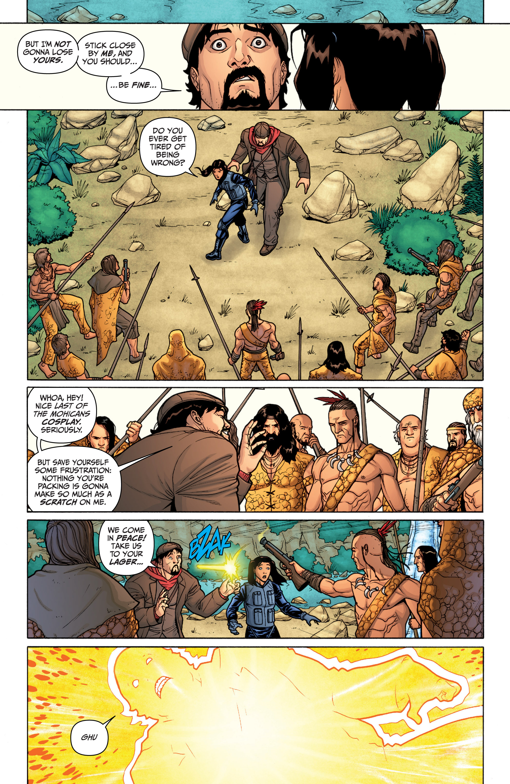 Read online Archer and Armstrong comic -  Issue #11 - 9
