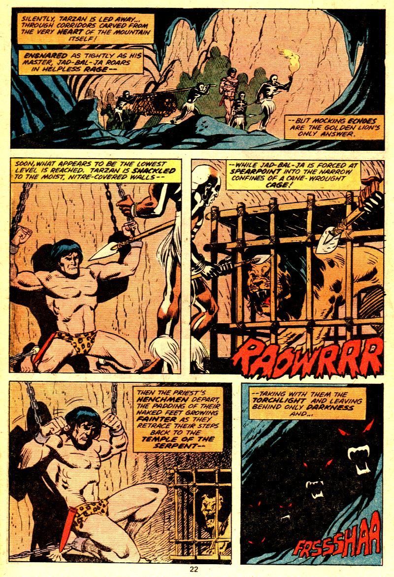 Read online Tarzan (1977) comic -  Issue # _Annual 2 - 18