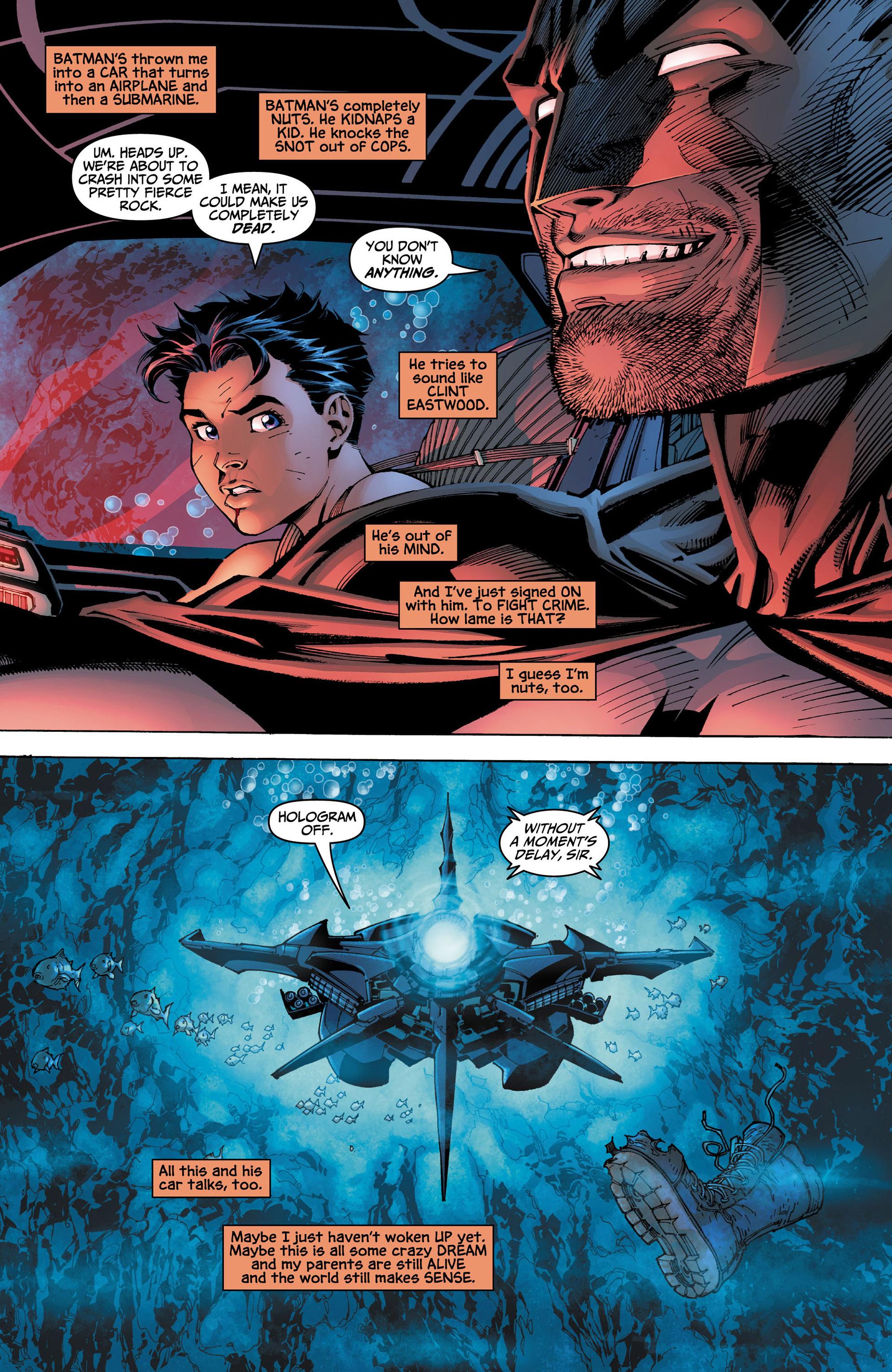 Read online All Star Batman & Robin, The Boy Wonder comic -  Issue #4 - 5