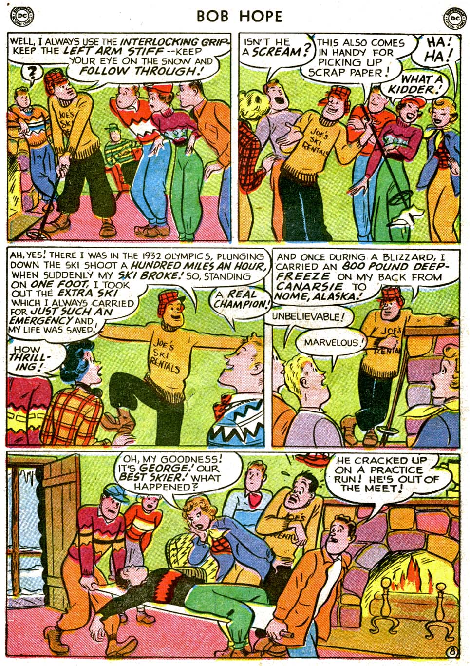 The Adventures of Bob Hope issue 1 - Page 24