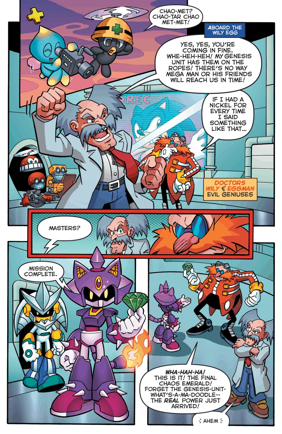 Read online Sonic Universe comic -  Issue #52 - 9